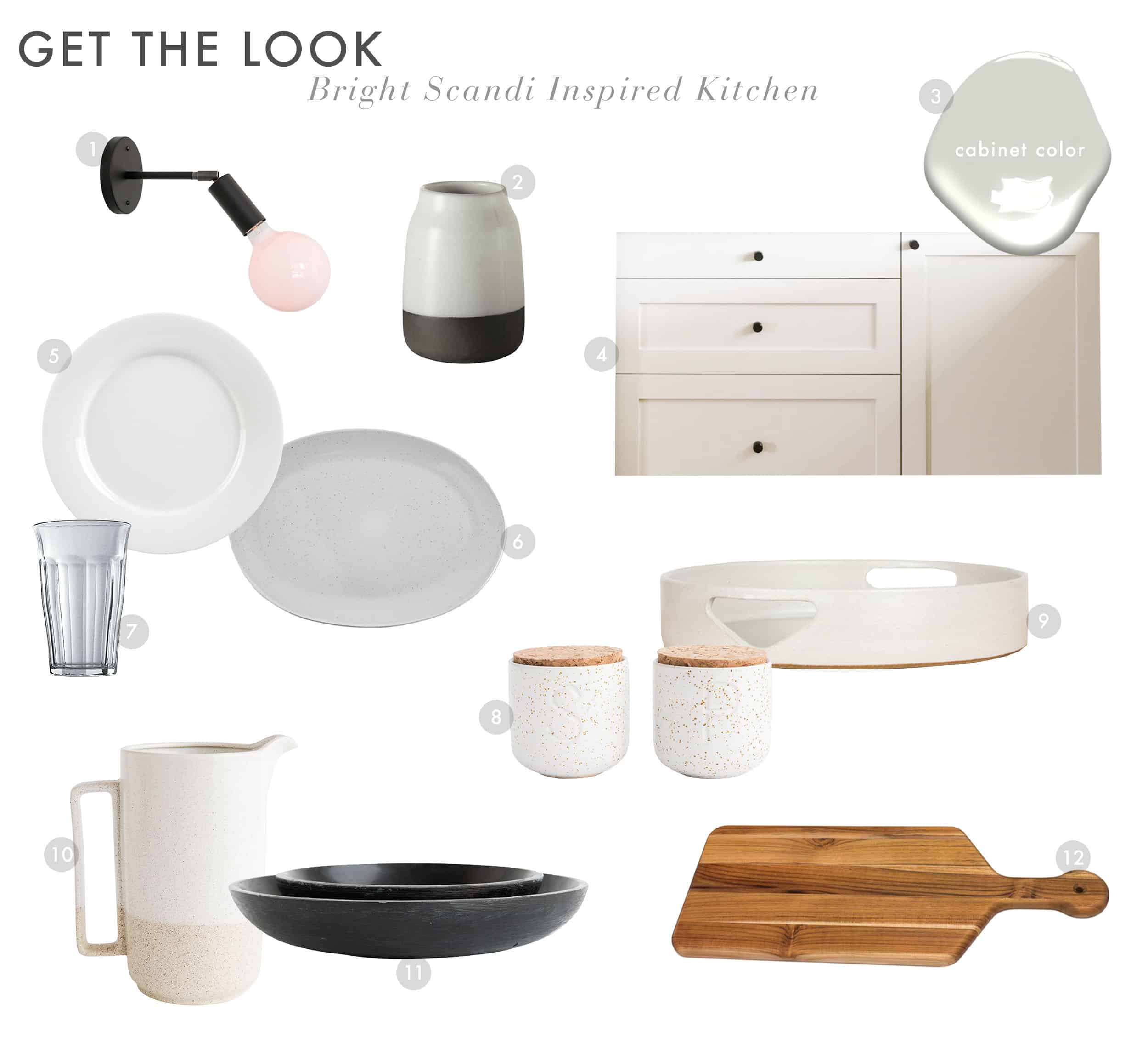 Get The Look Scandi House Kitchen