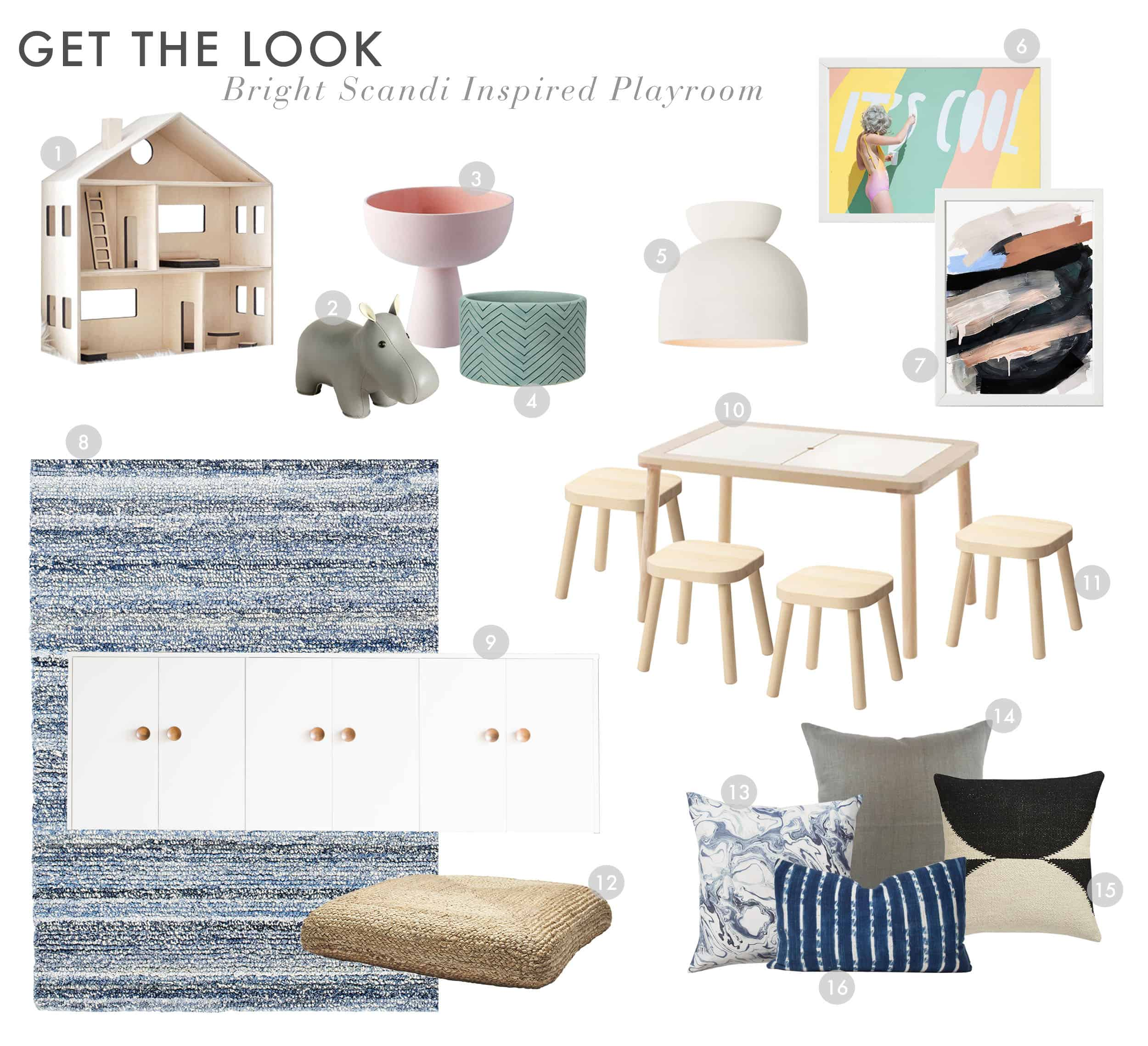 Get The Look Scandi House Playroom 1