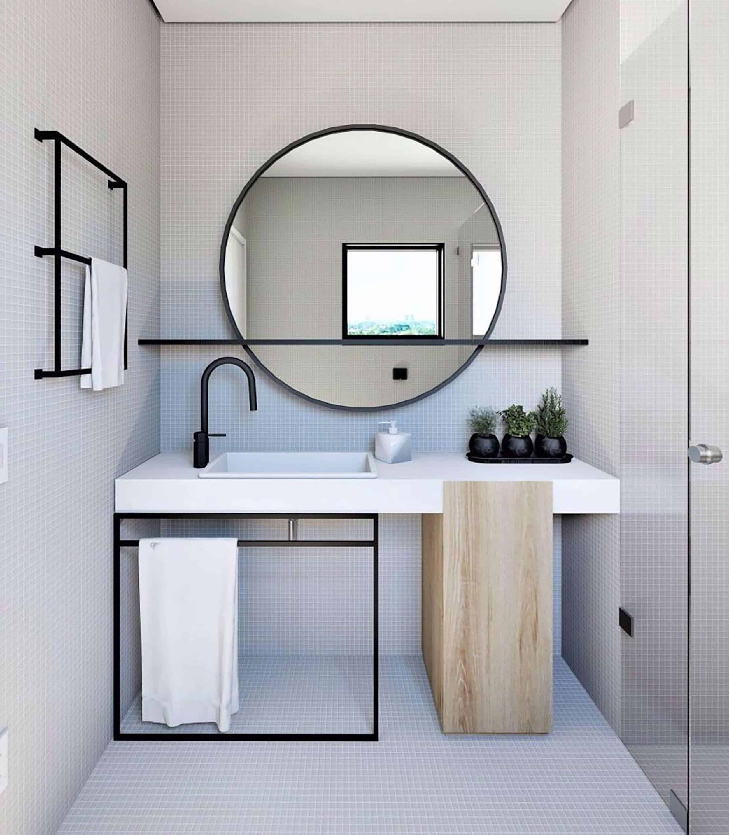 Mirror With Shelf Q
