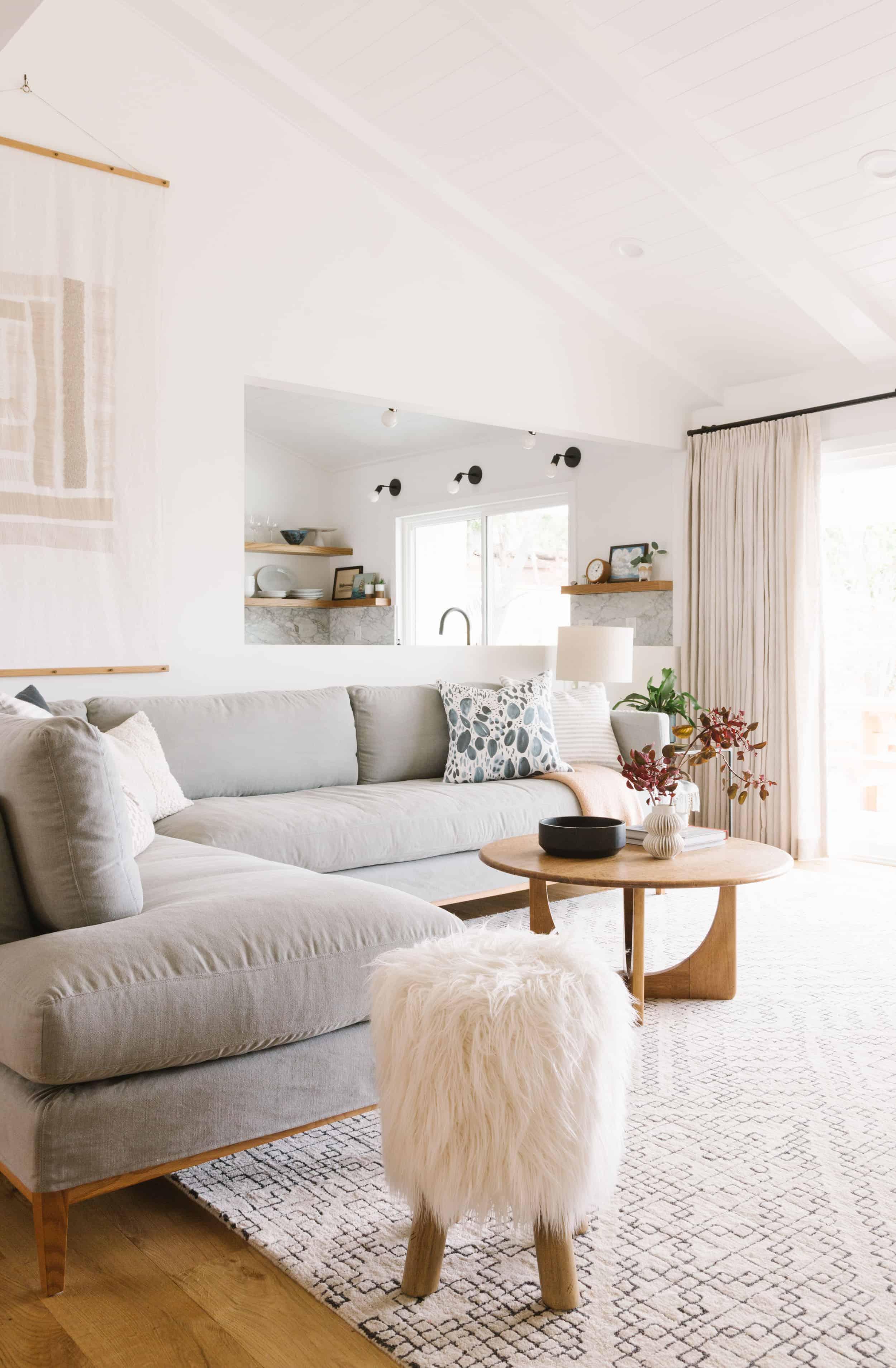 Samantha Gluck Emily Henderson Living Room Scandinavian Inspired