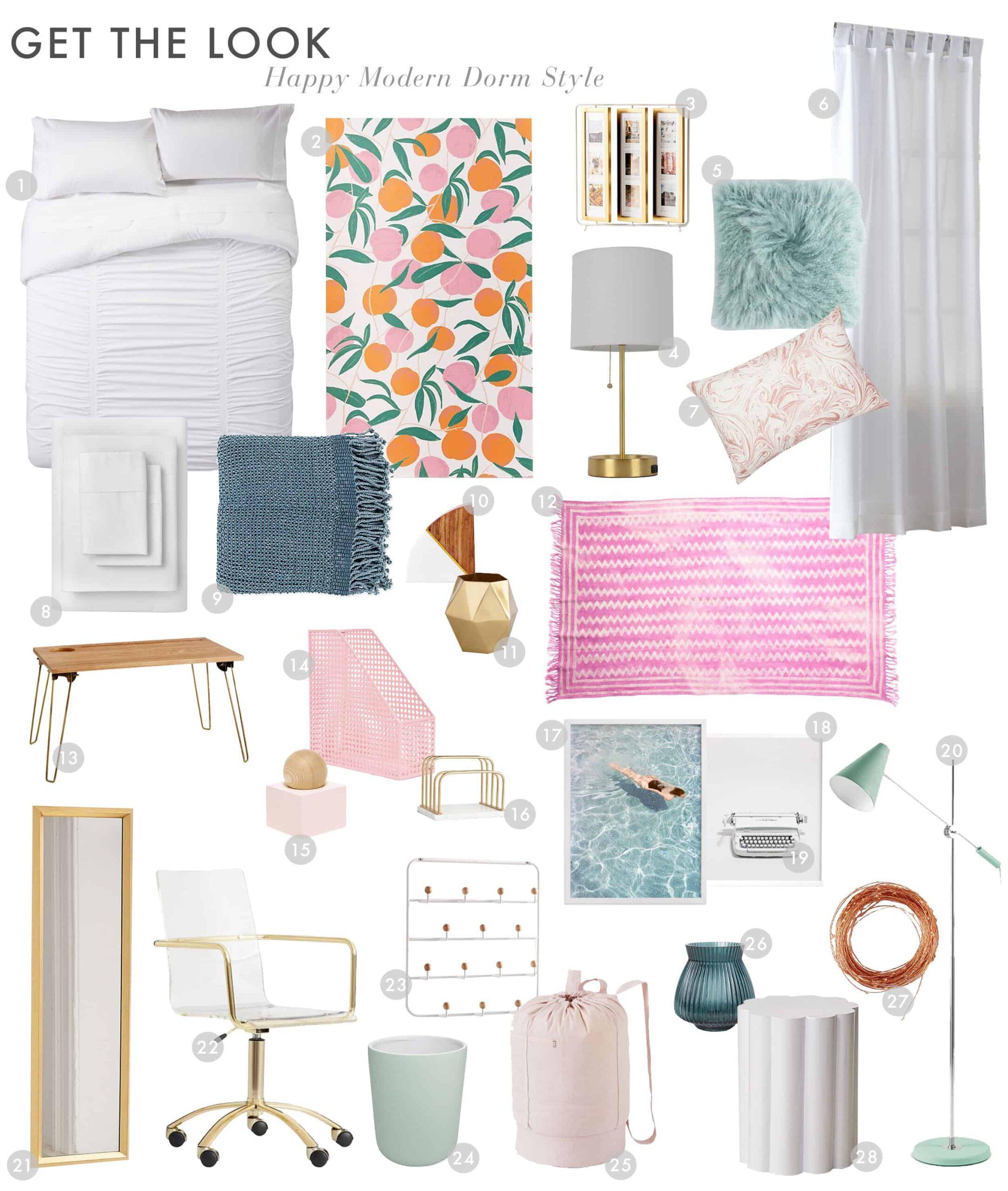 Dorm Room Happy Modern1