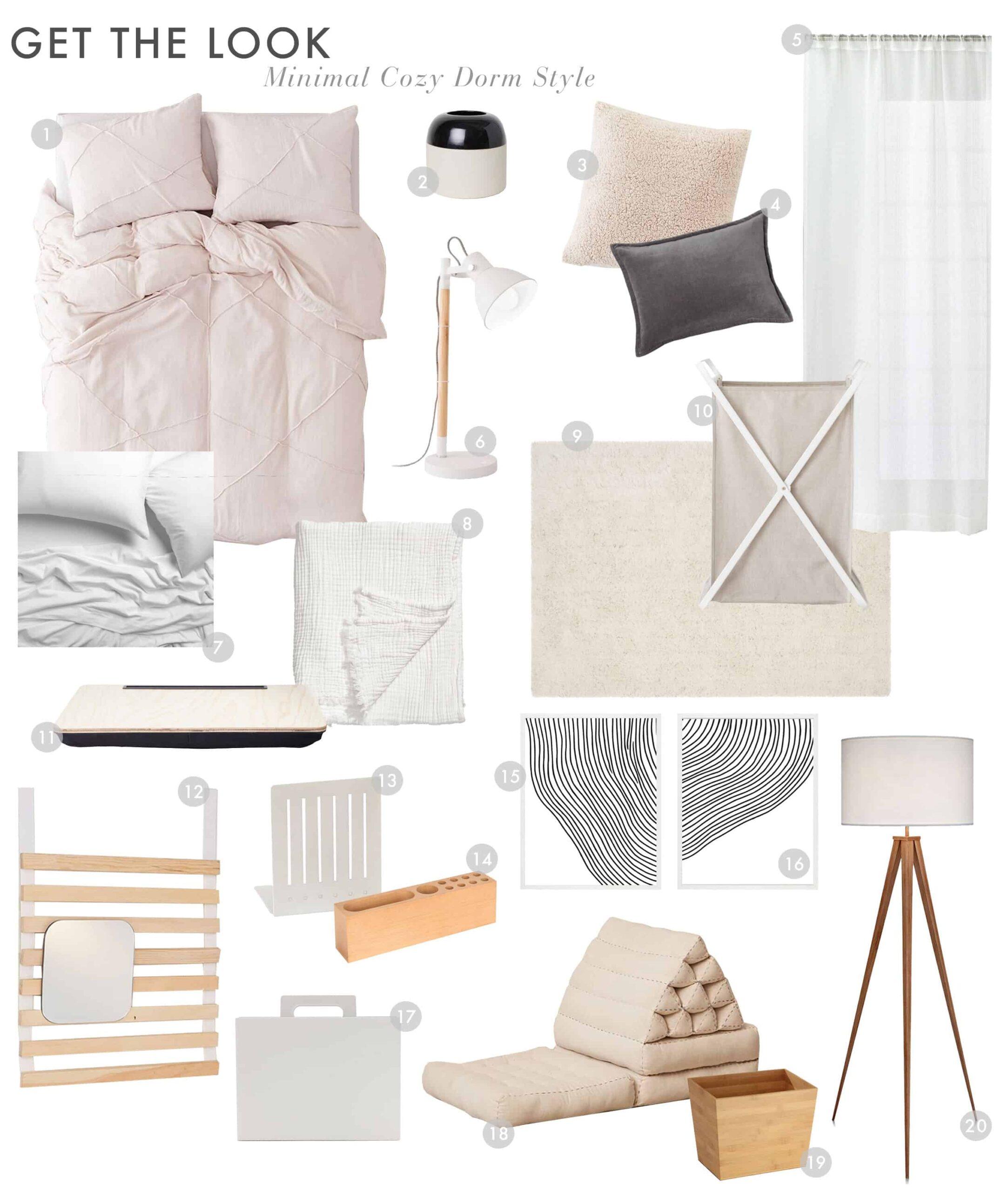 Dorm Room Minimal Cozy1