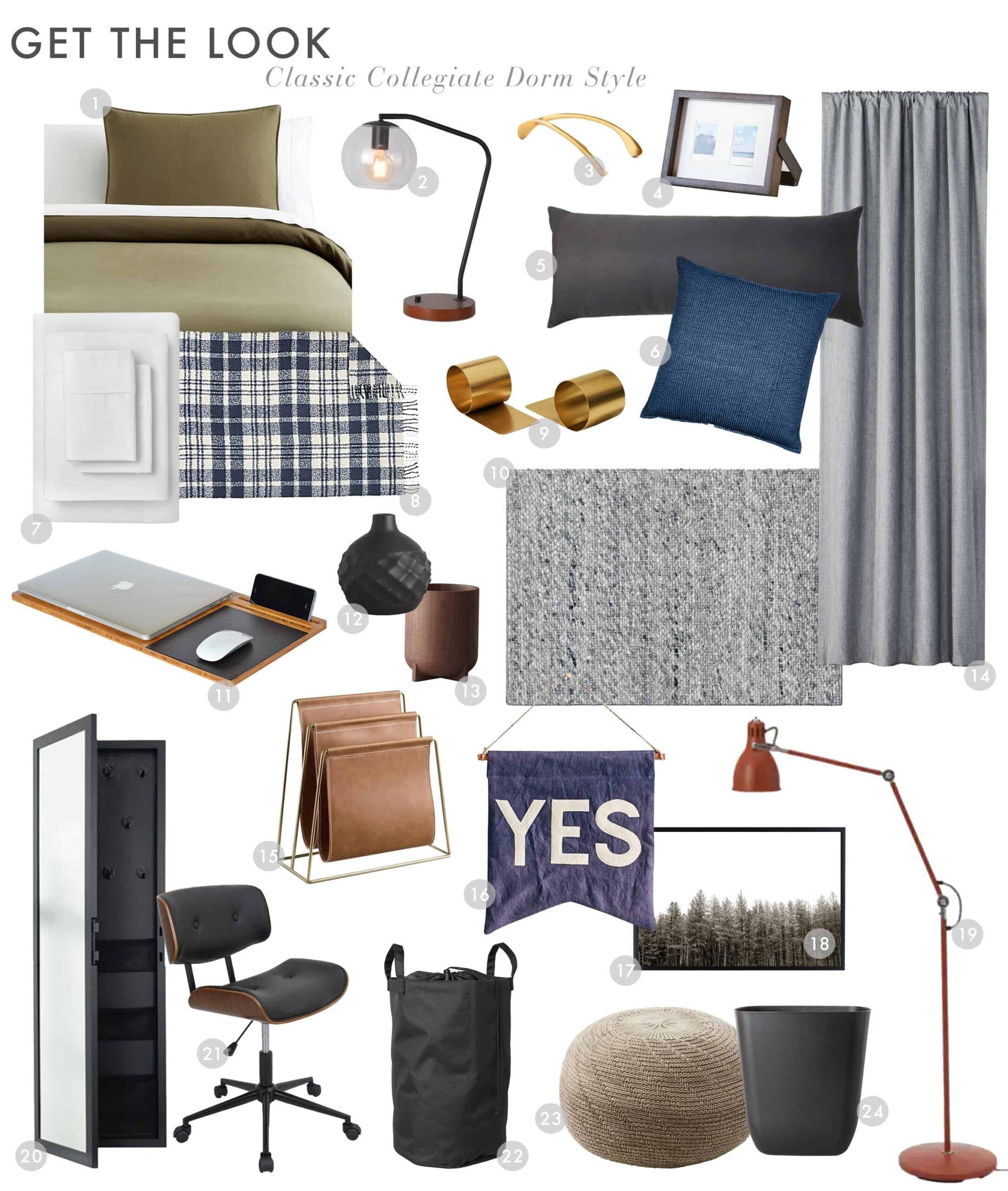 Dorm Room Preppy