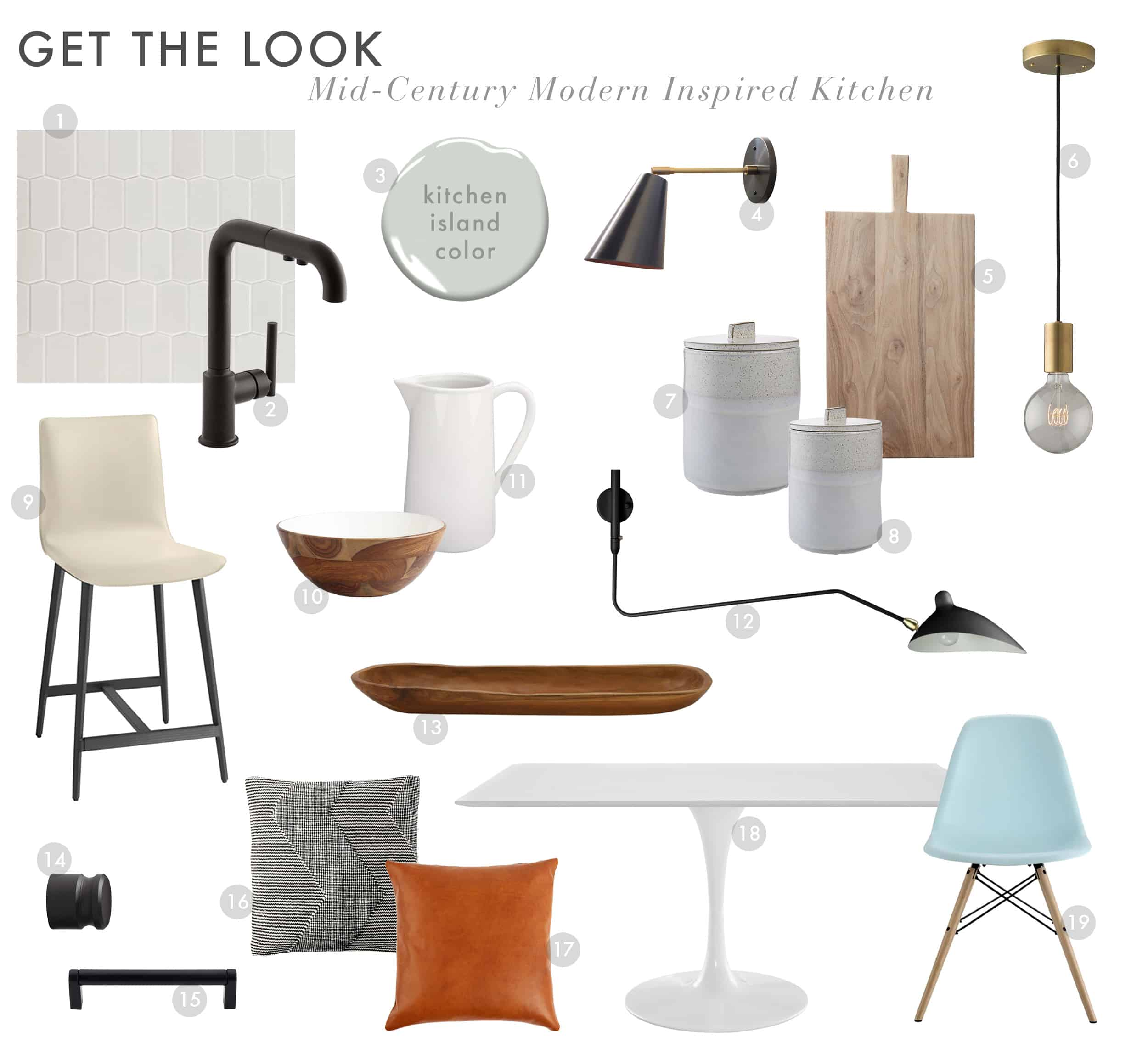 Emily Henderson Get The Look Modern Scandi House Sam Gluck Kitchen