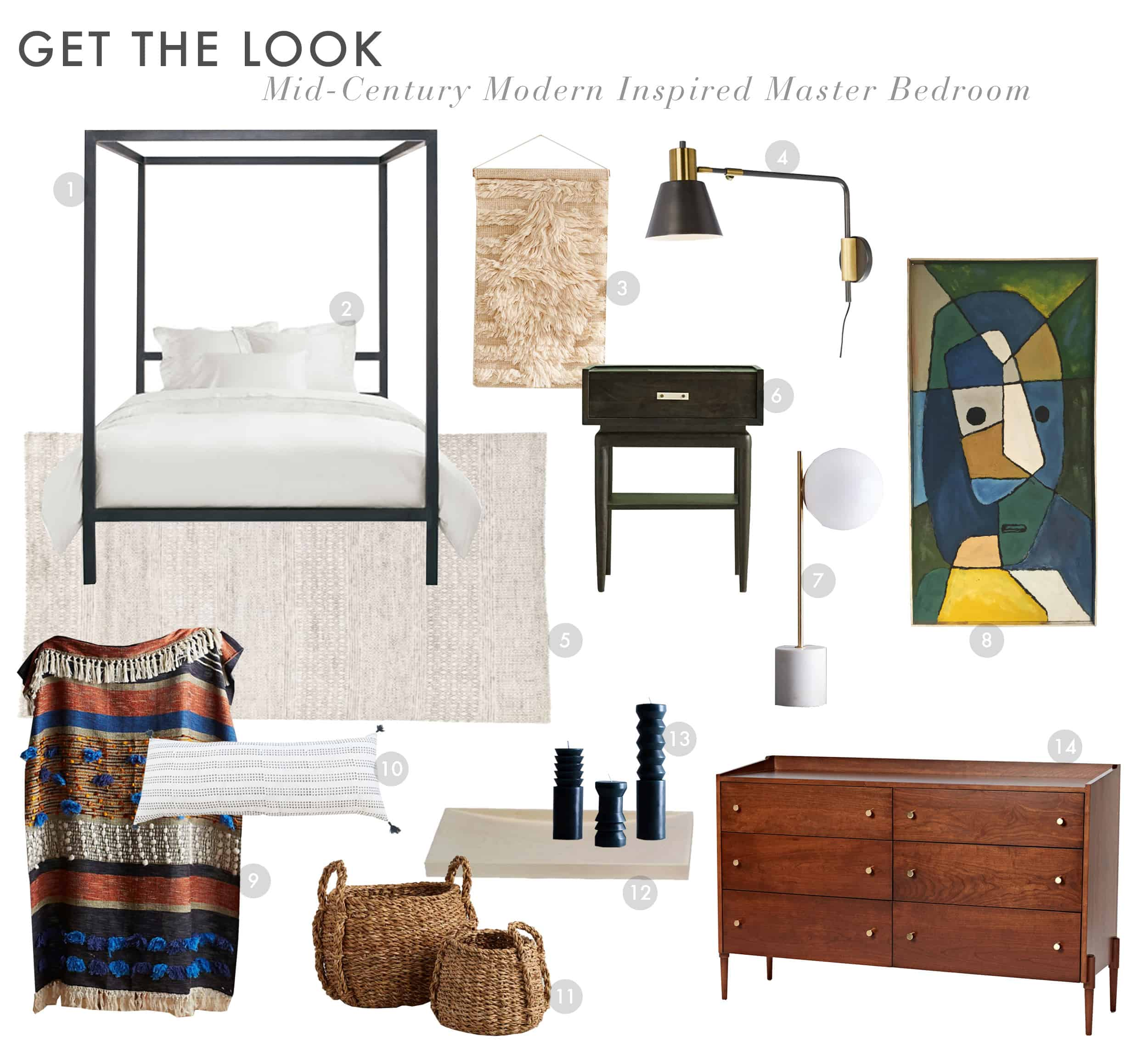 Emily Henderson Get The Look Modern Scandi House Sam Gluck Master Bedroom
