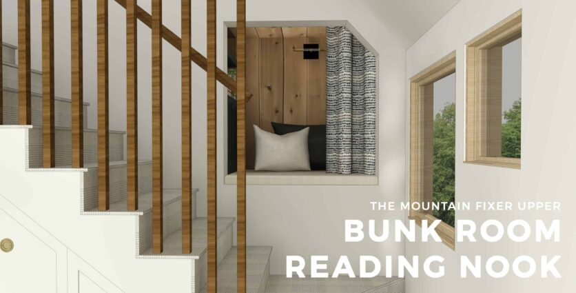 Emily Henderson Mountain House Bunk Room Nook Render 02 Opener