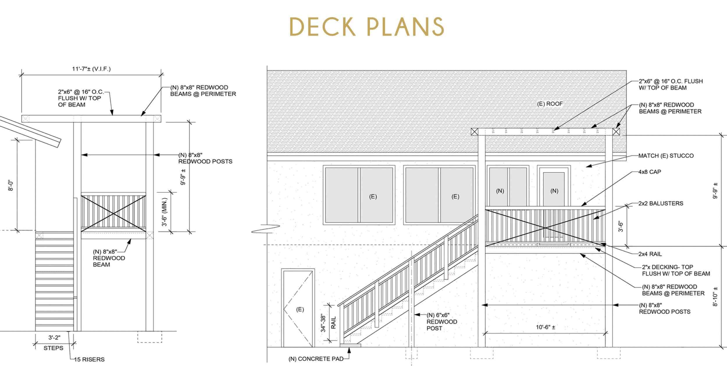 Orlando Soria Deck Remodel Plans