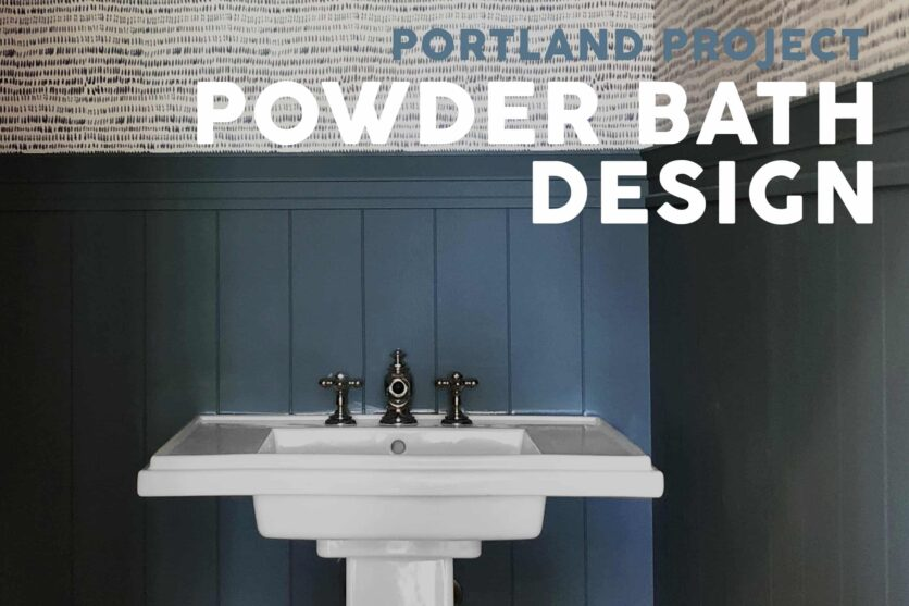 Emily Henderson Portland Traditional Powder Bath Update Opener New