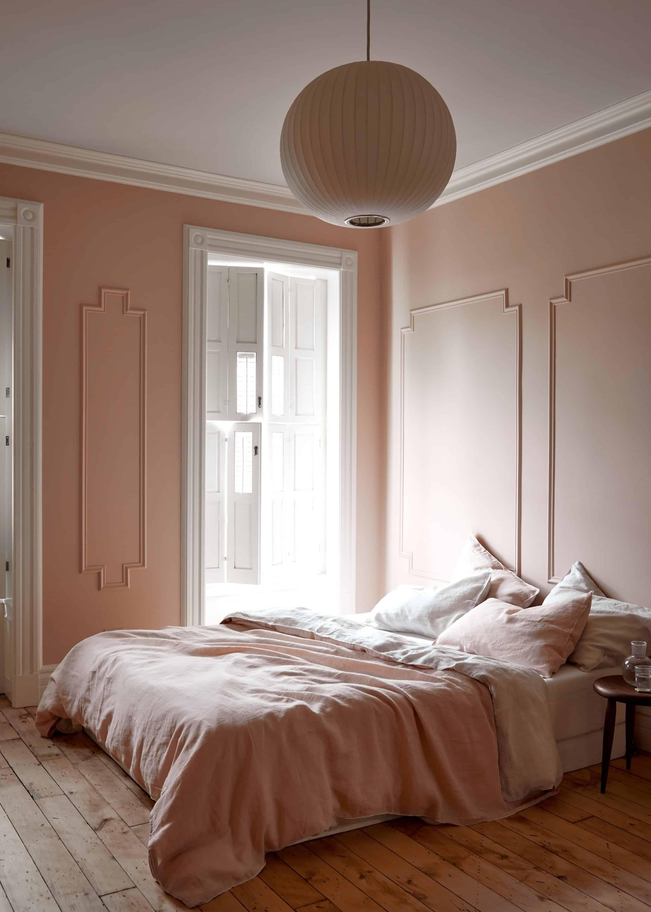 Millennial Pink Bedroom