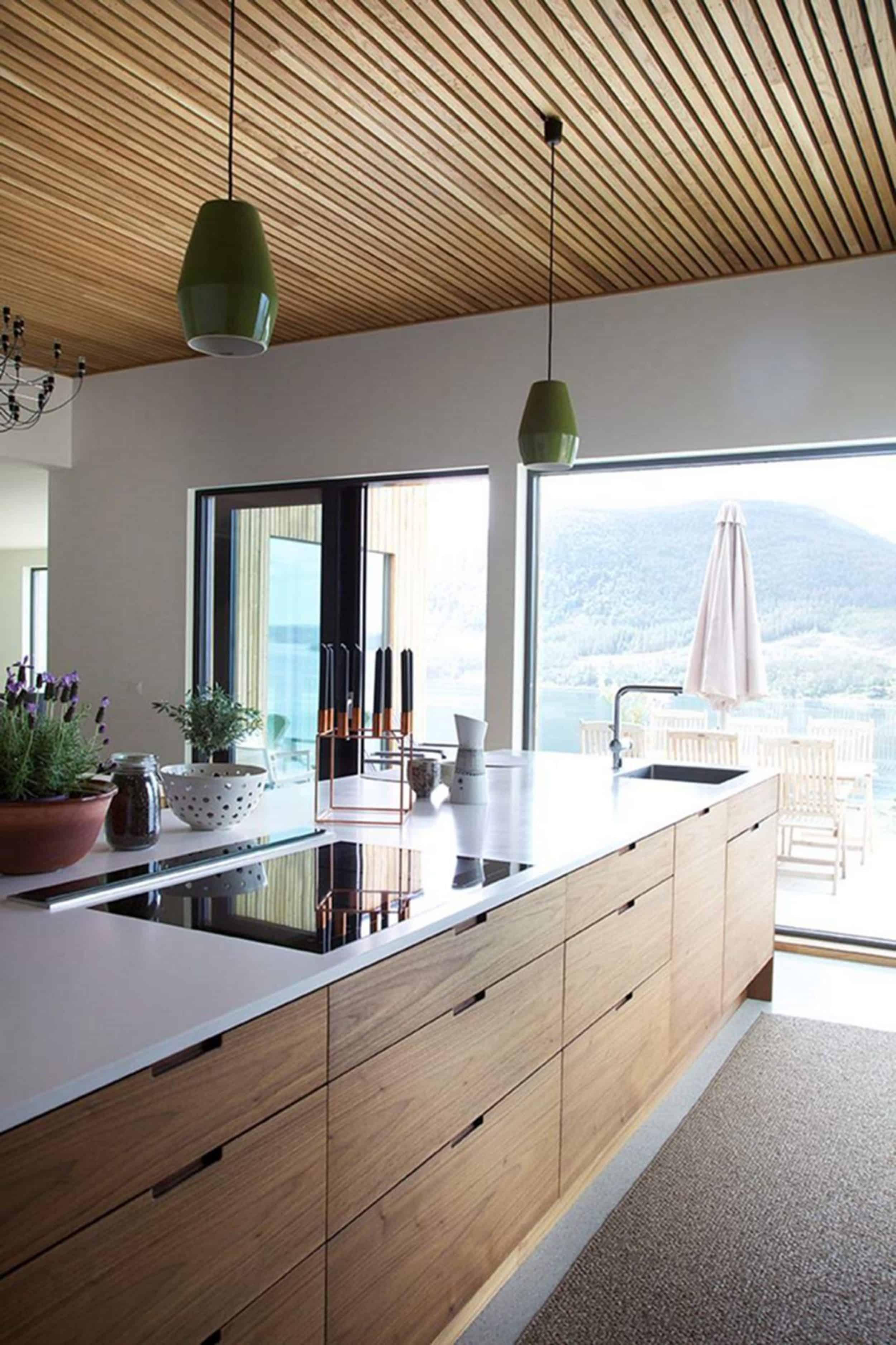 Natural Wood Modern Kitchen
