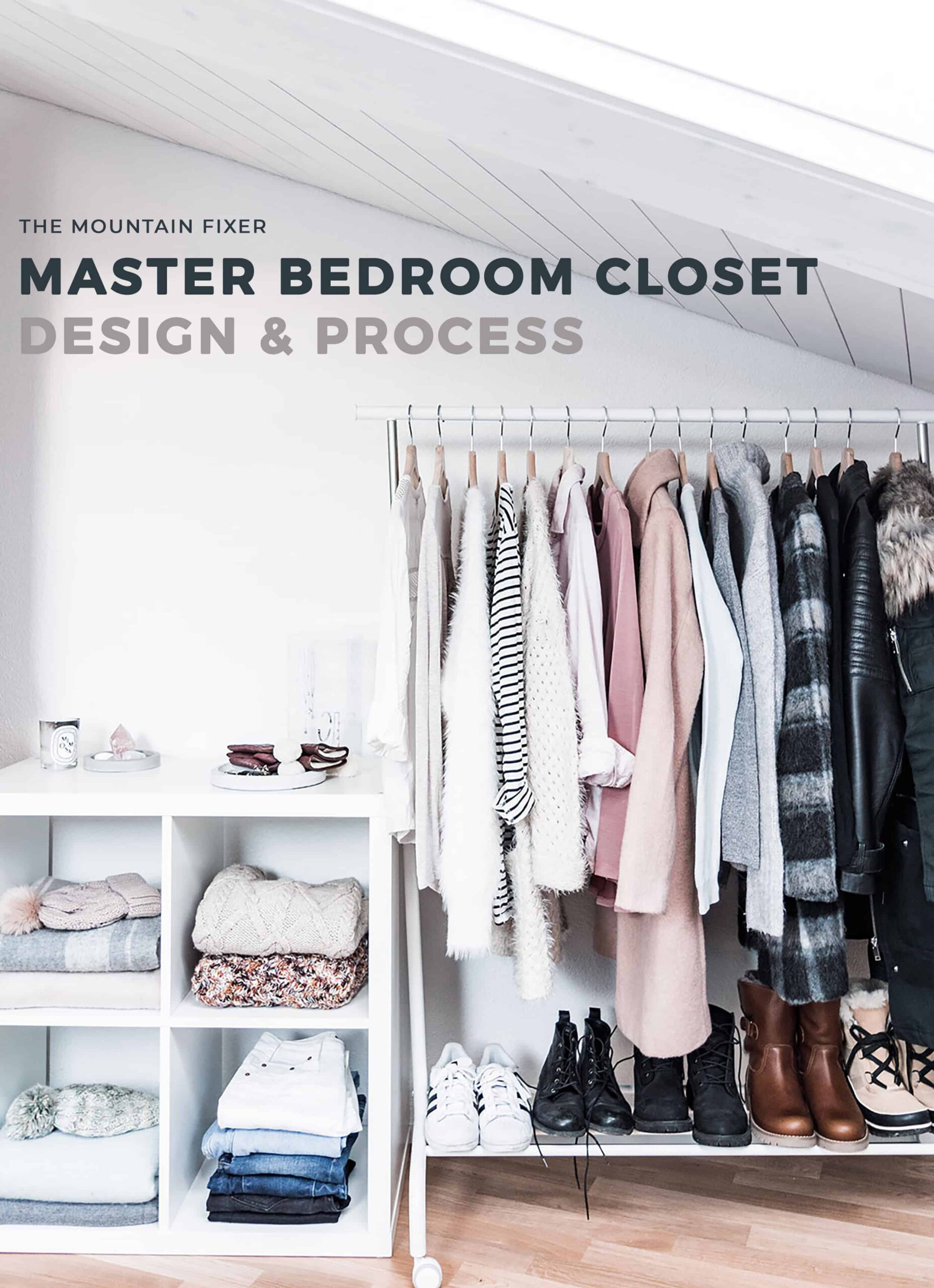 Emily Henderson Design Mountain Fixer Master Bedroom Closet Design Process Opener 1