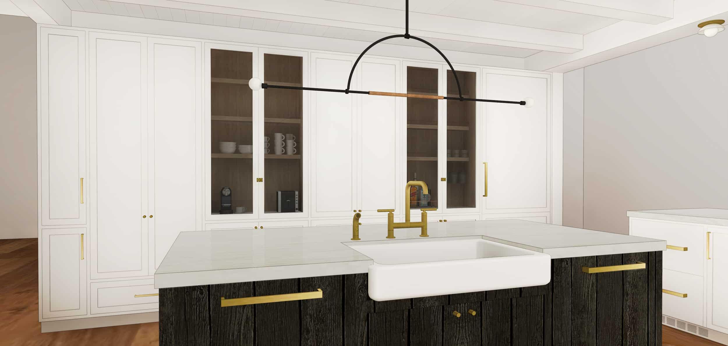 Emily Henderson Mountain House Scandinavian kitchen remodel_8