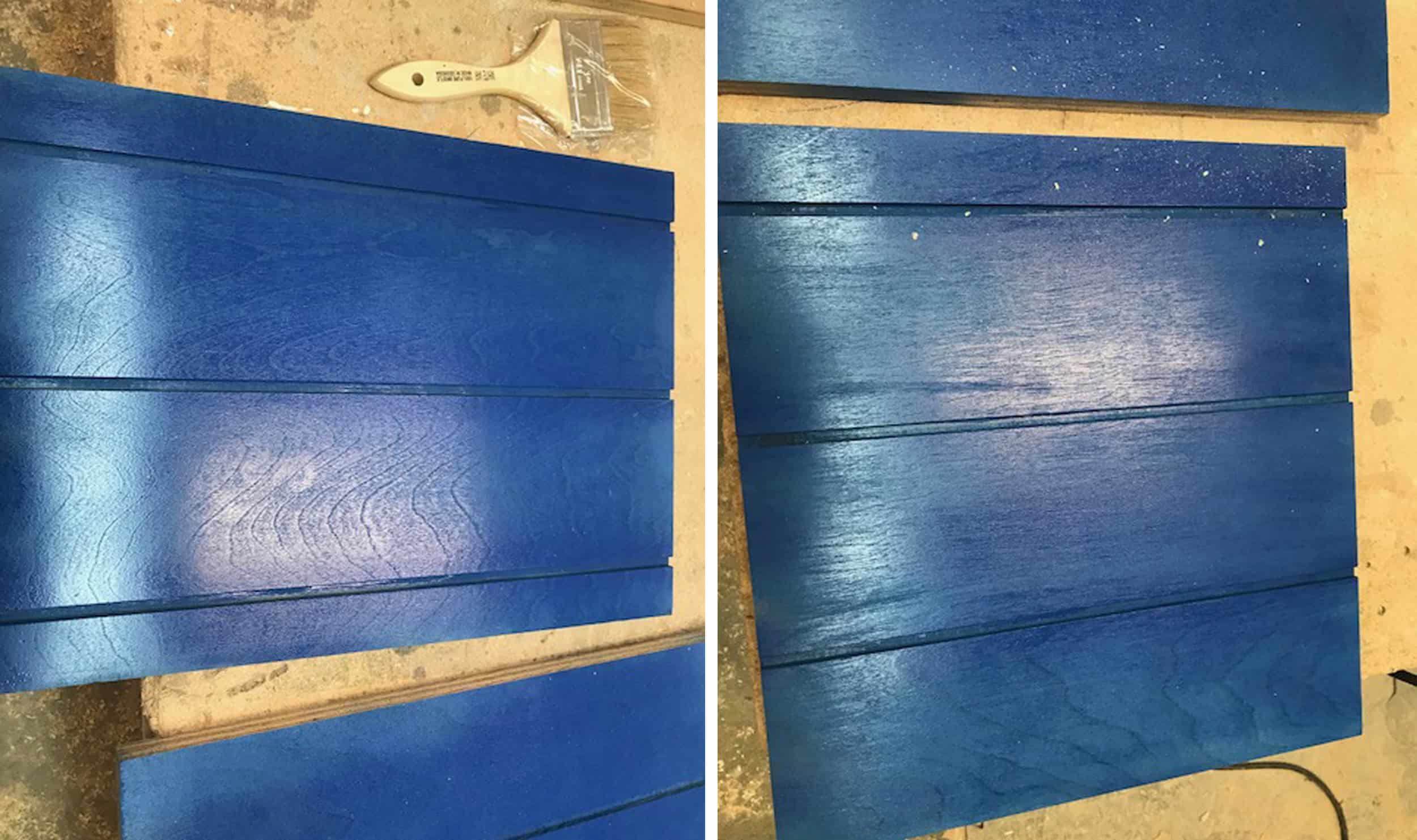 Emily Henderson Mountain House Kitchen Kitchen Evolution Blue Painted Wood