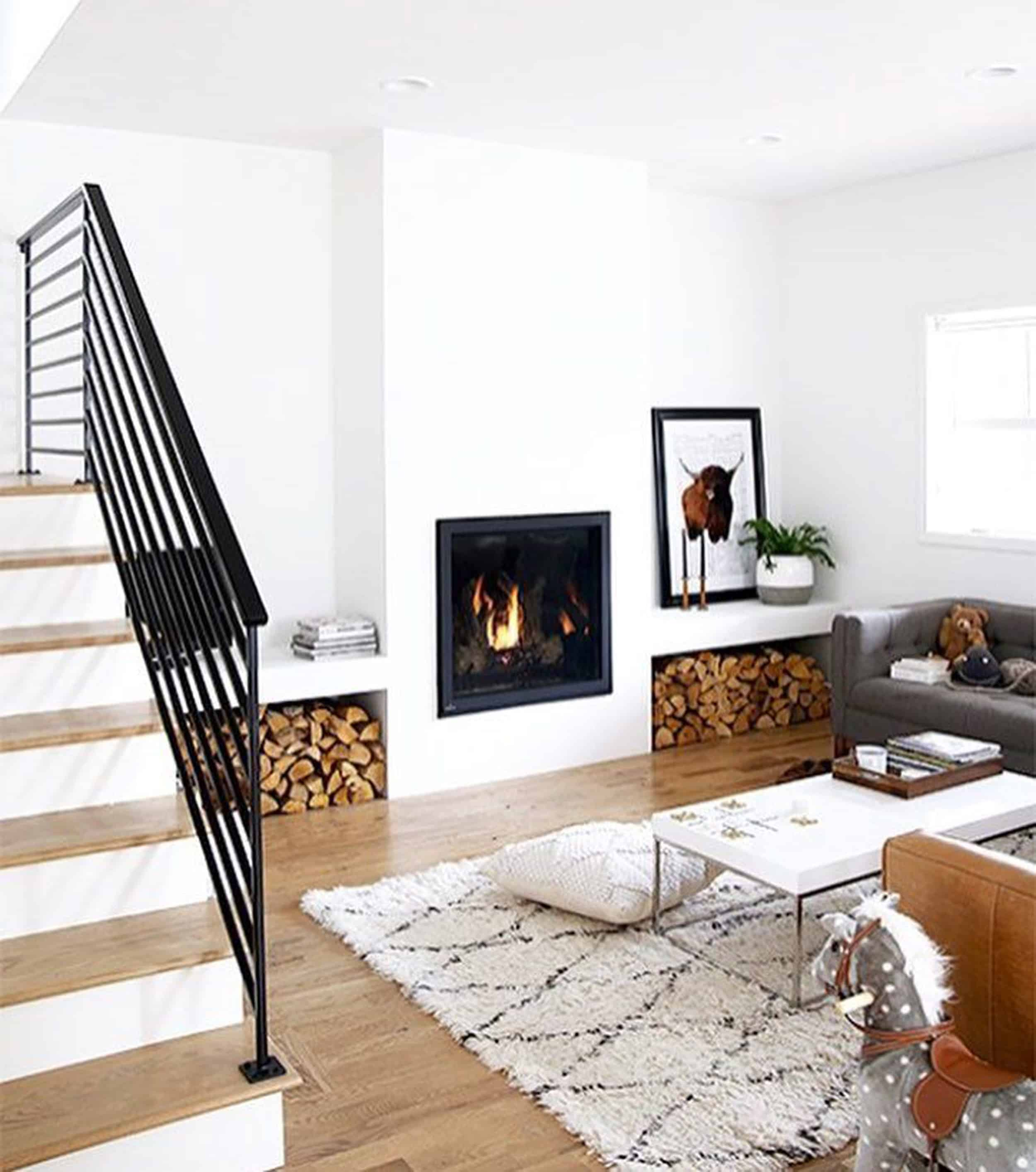 Emily Henderson Mountain Fixer Upper Family Room Fireplace Inspiration 6