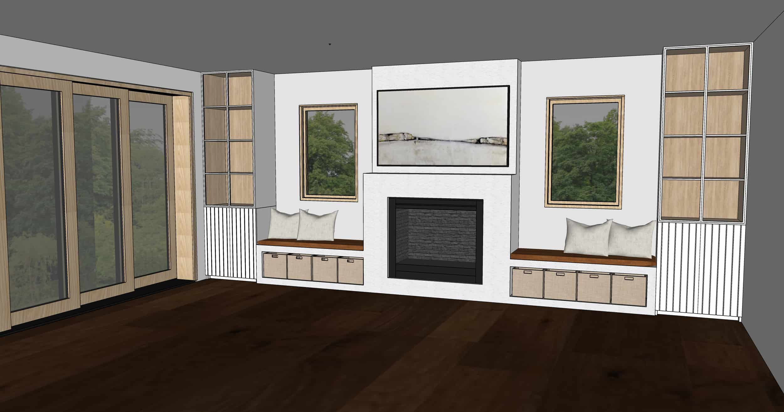 Emily Henderson Mountain Fixer Upper Family Room Fireplace Notes From Readers Option 51