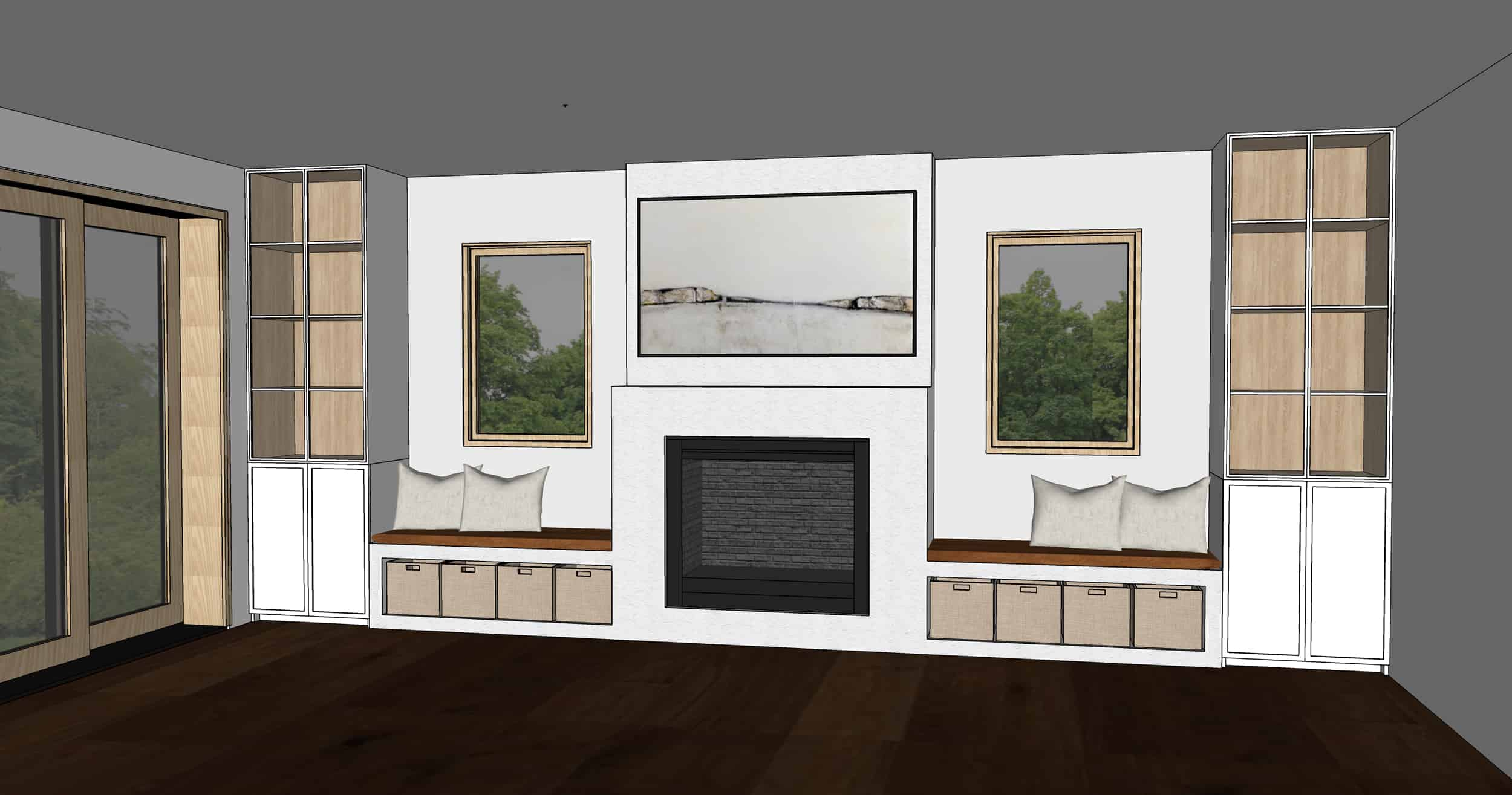 Emily Henderson Mountain Fixer Upper Family Room Fireplace Notes From Readers Option 61