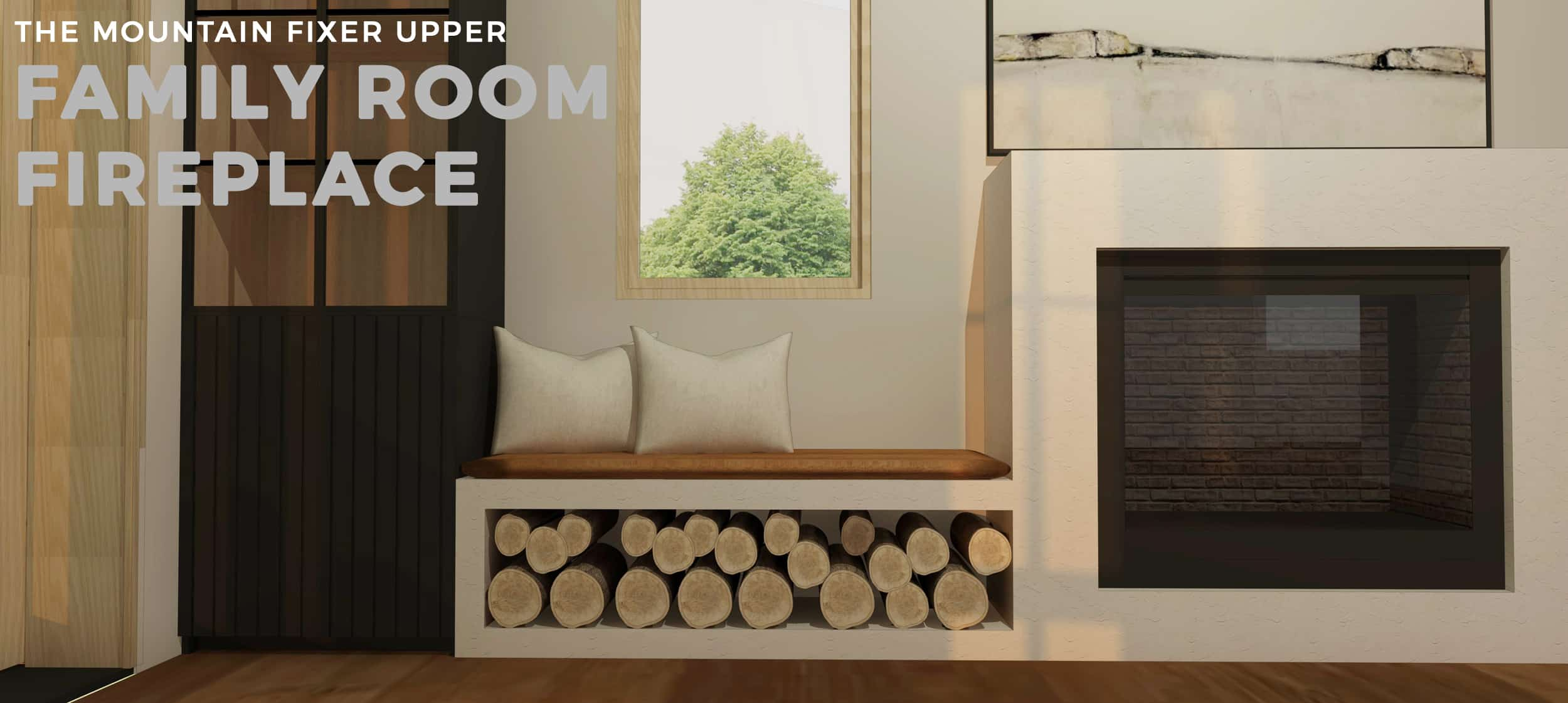 Emily Henderson Mountain Fixer Upper Family Room Fireplace Opener Final