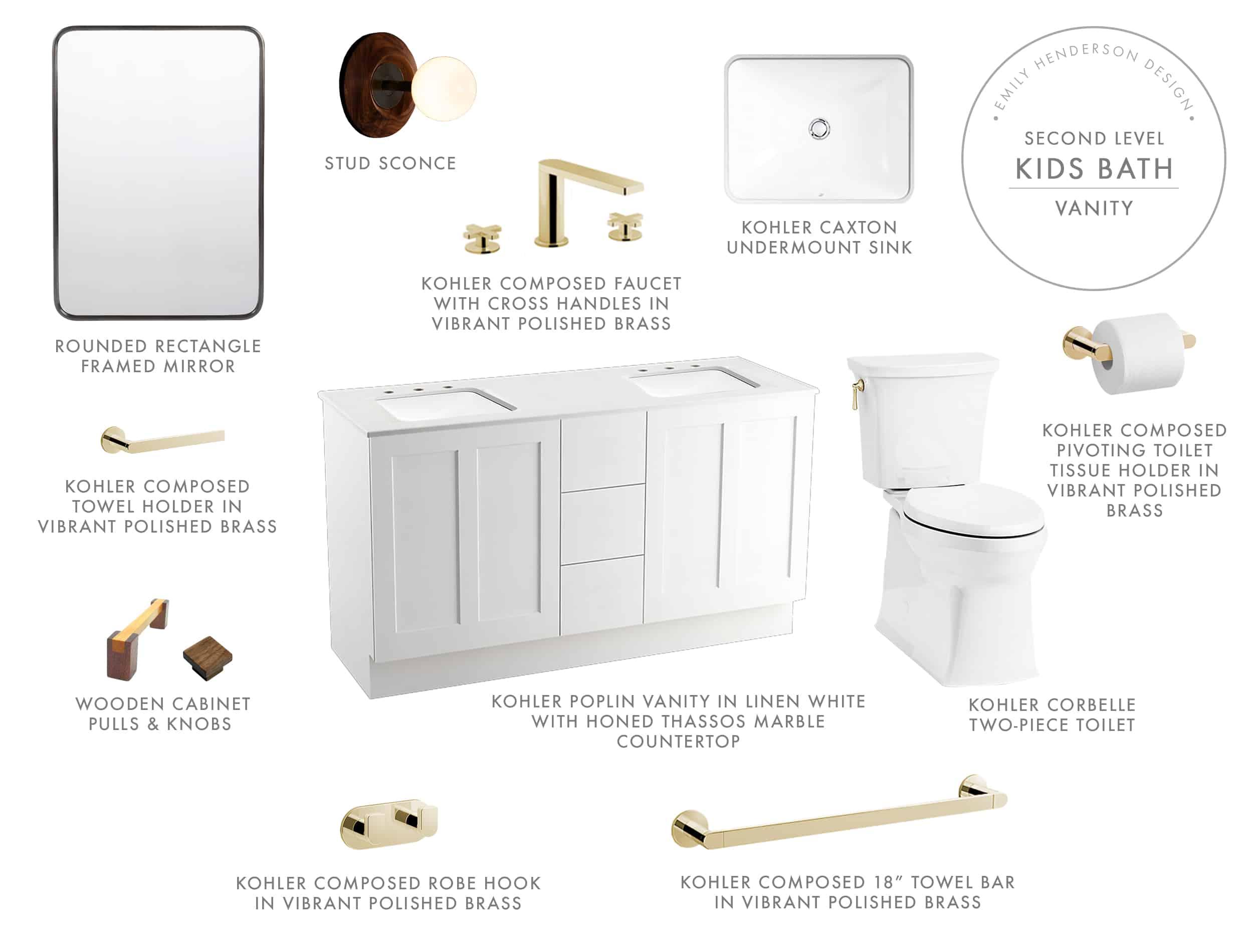 Emily Henderson Mountain Fixer Upper Kids Bath Upstairs Final Product Vanity Adj