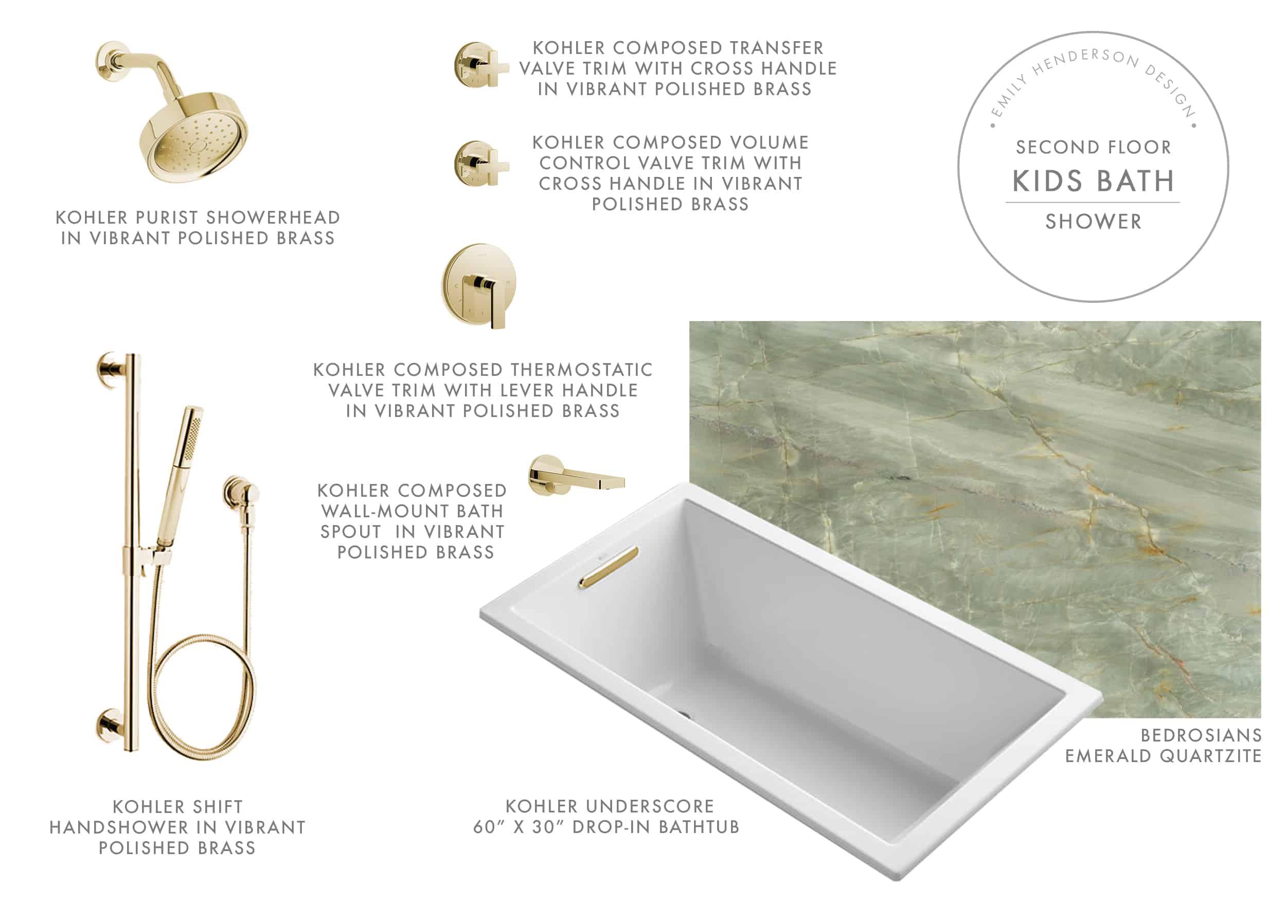 Emily Henderson Mountain Fixer Upper Kids Bath Upstairs Product Shower Adj