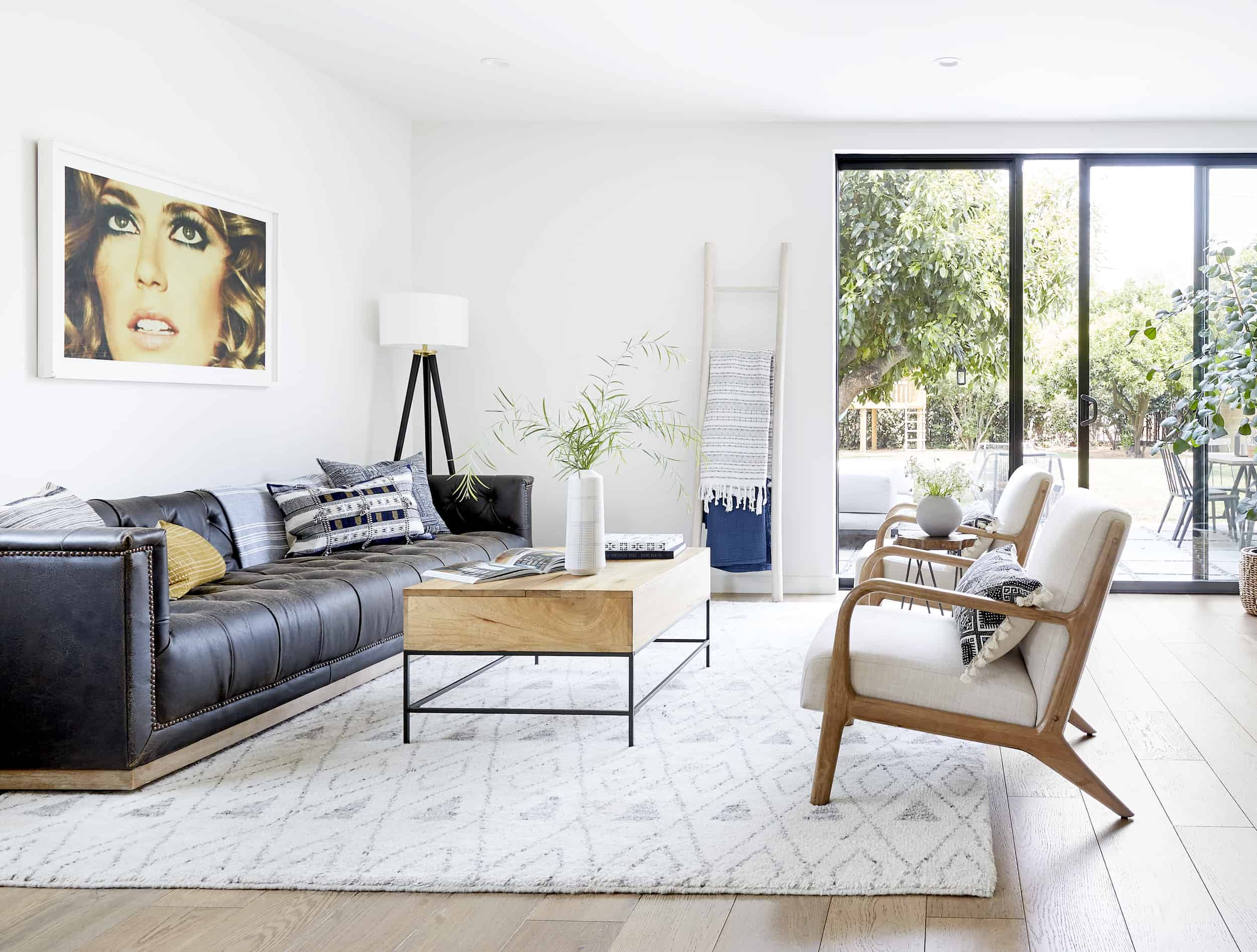 Target See It In Your Space Emily Henderson Bright Modern Living Room141