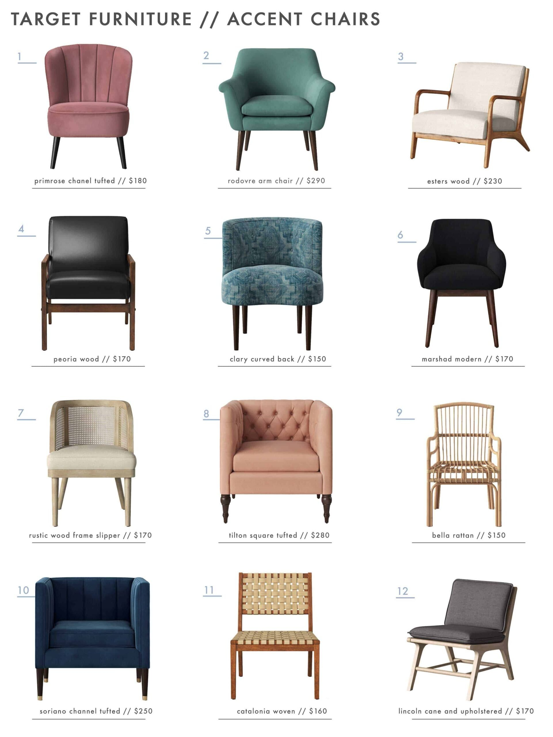 Target Best Arm Chairs