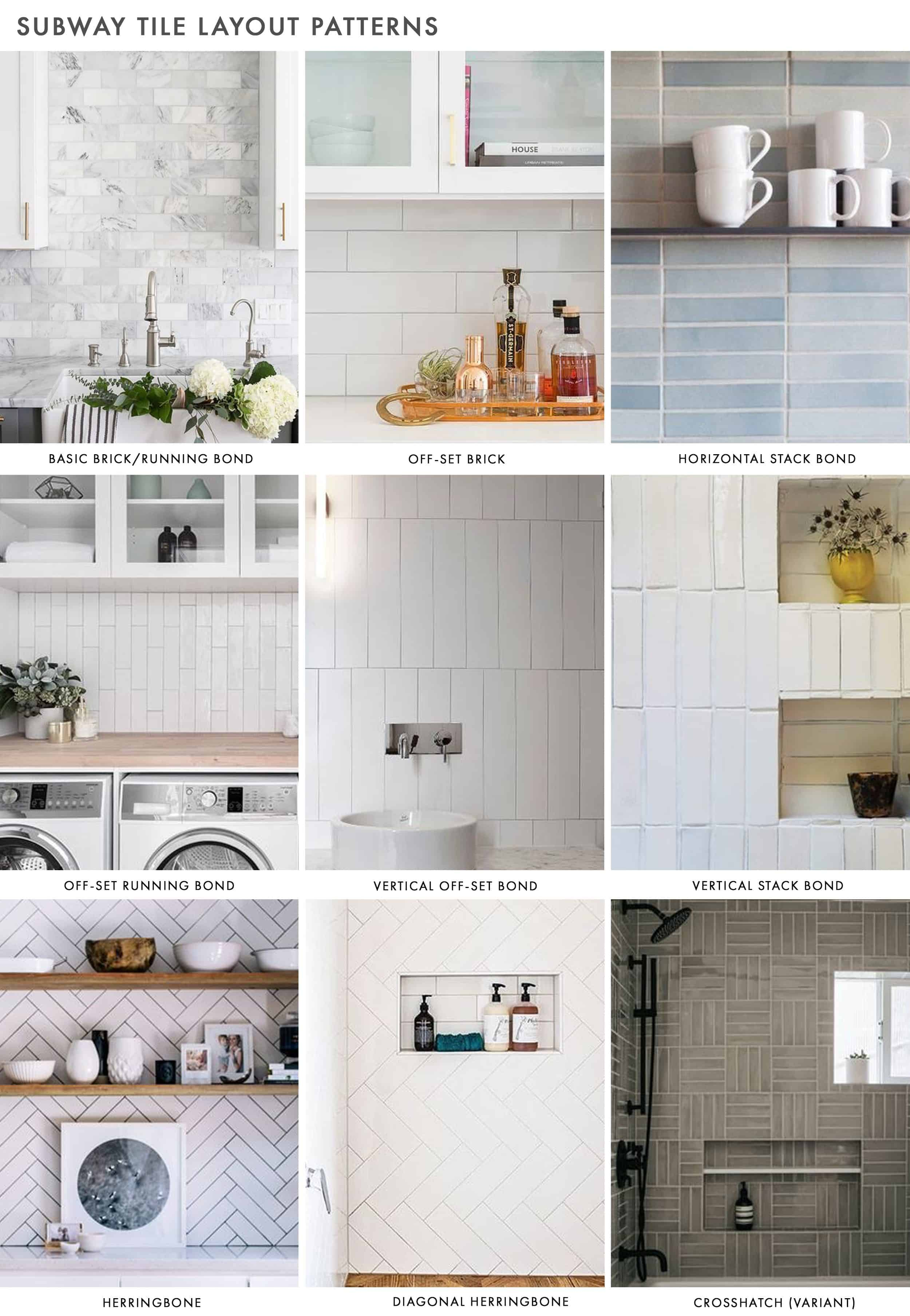 Emily Henderson Subway Tile Patterns
