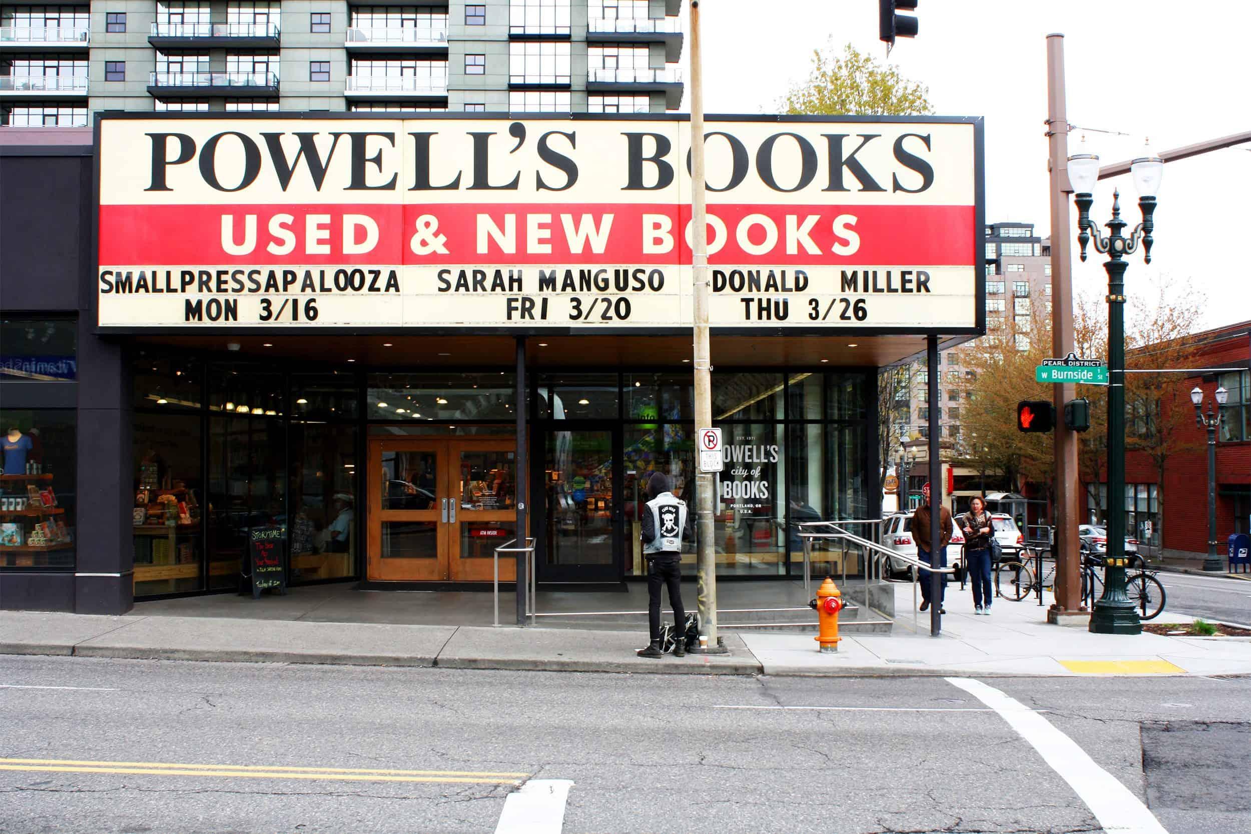 Emily Henderson Portland City Guide Powell Books