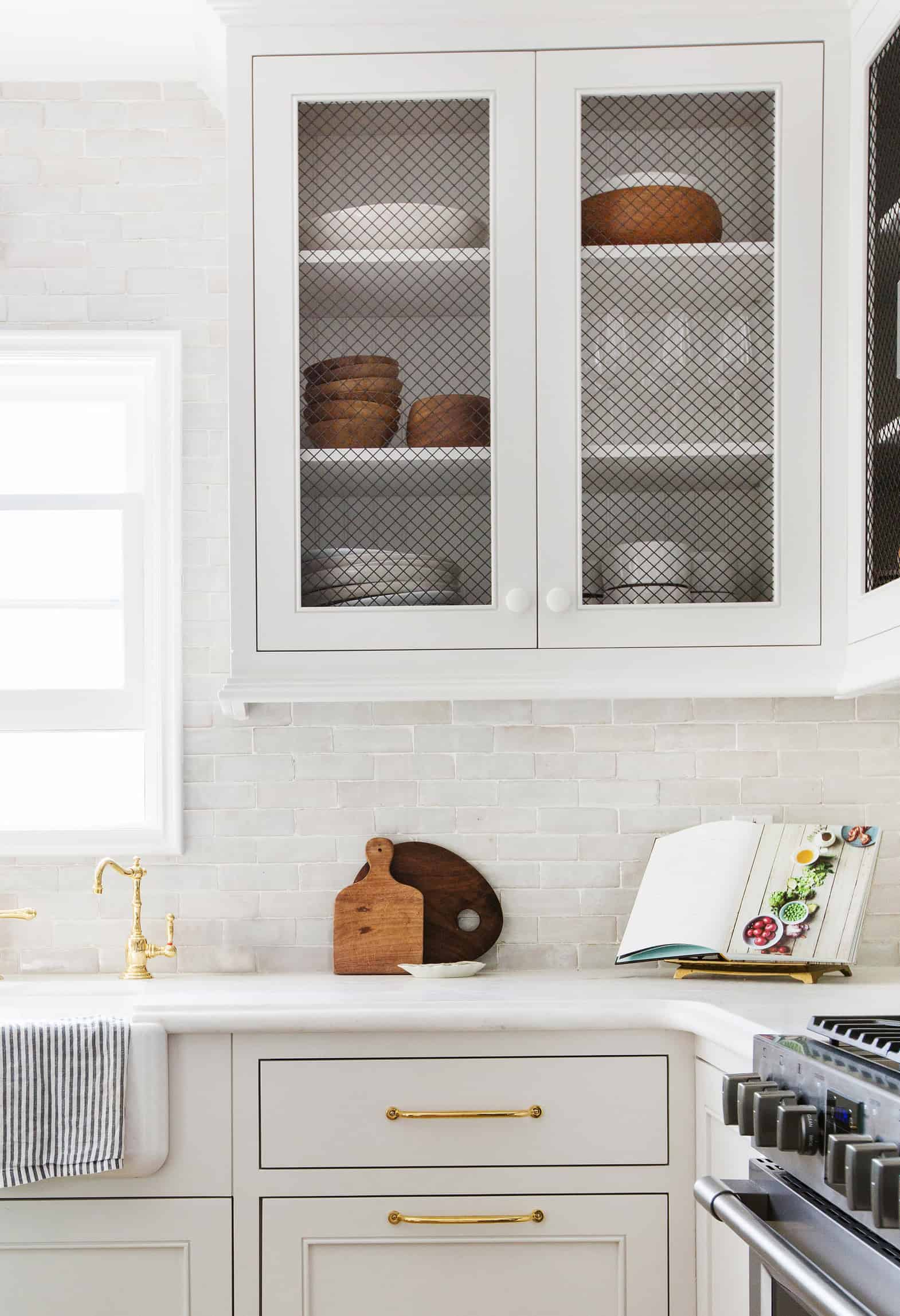 Emily Henderson Frigidaire Kitchen Reveal Waverly English Modern Edited Beams 20