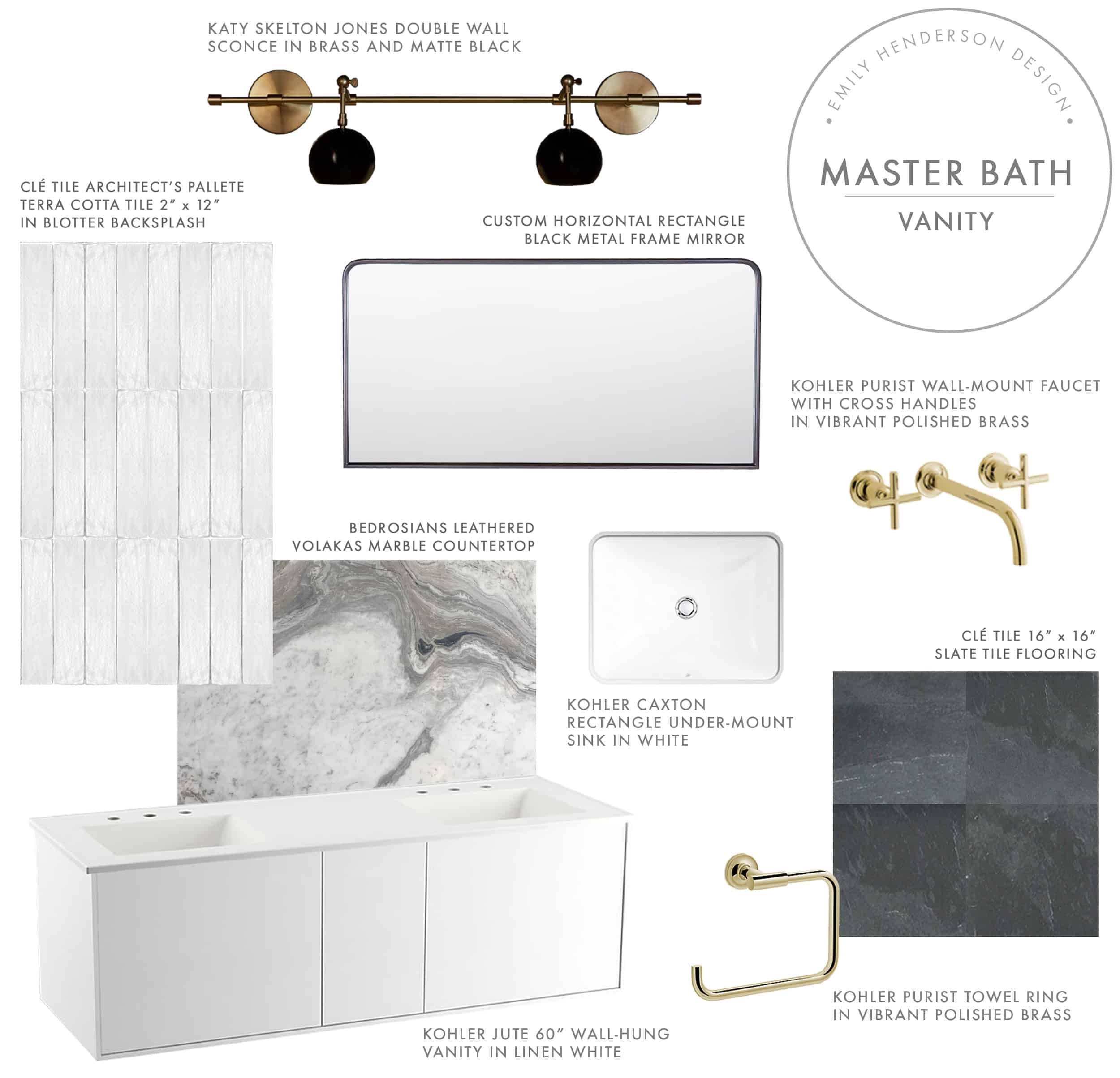 Emily Henderson Mountain Fixer Master Bath Design Plan Product Vanity