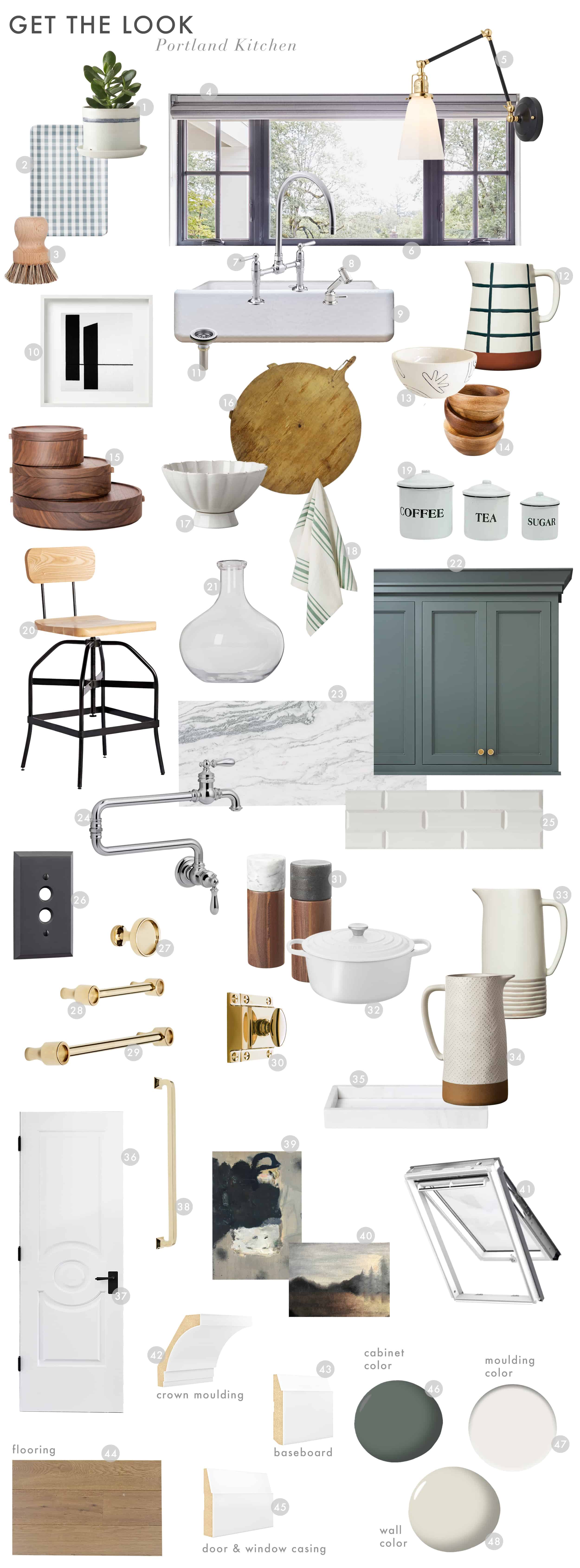 Emily Henderson Portland Traditional Kitchen Reveal Get The Look Updated