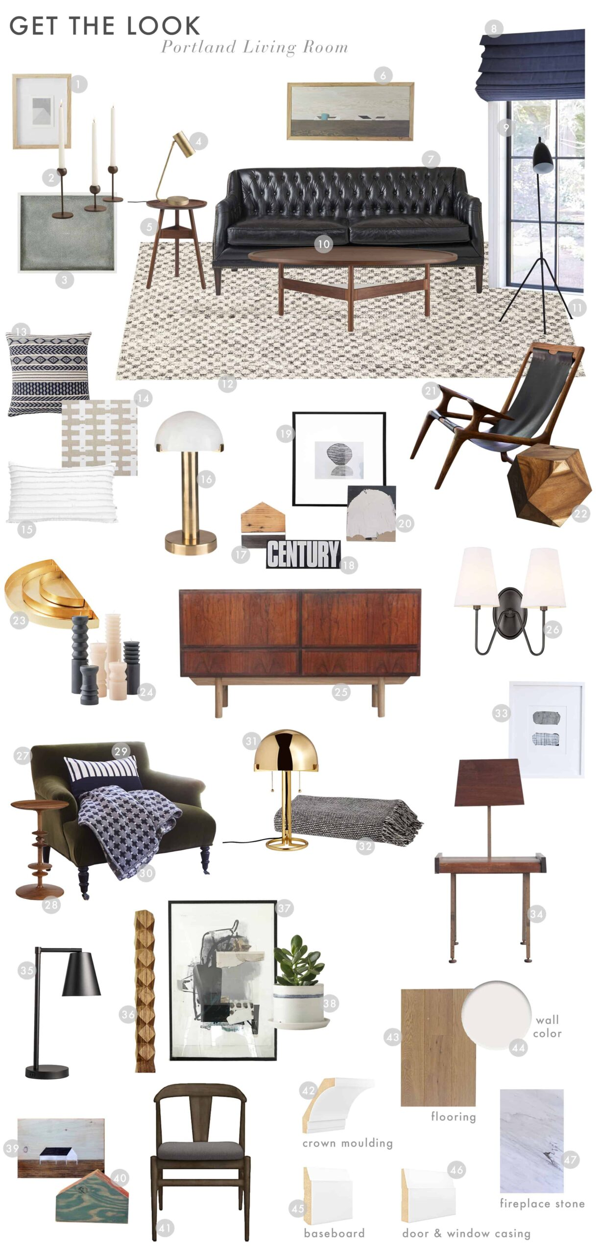 Emily Henderson Portland Traditional Living Room Reveal Get The Look