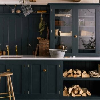 Emily Henderson Updated Kitchen Trends 2018 Cabinet On Counter 2