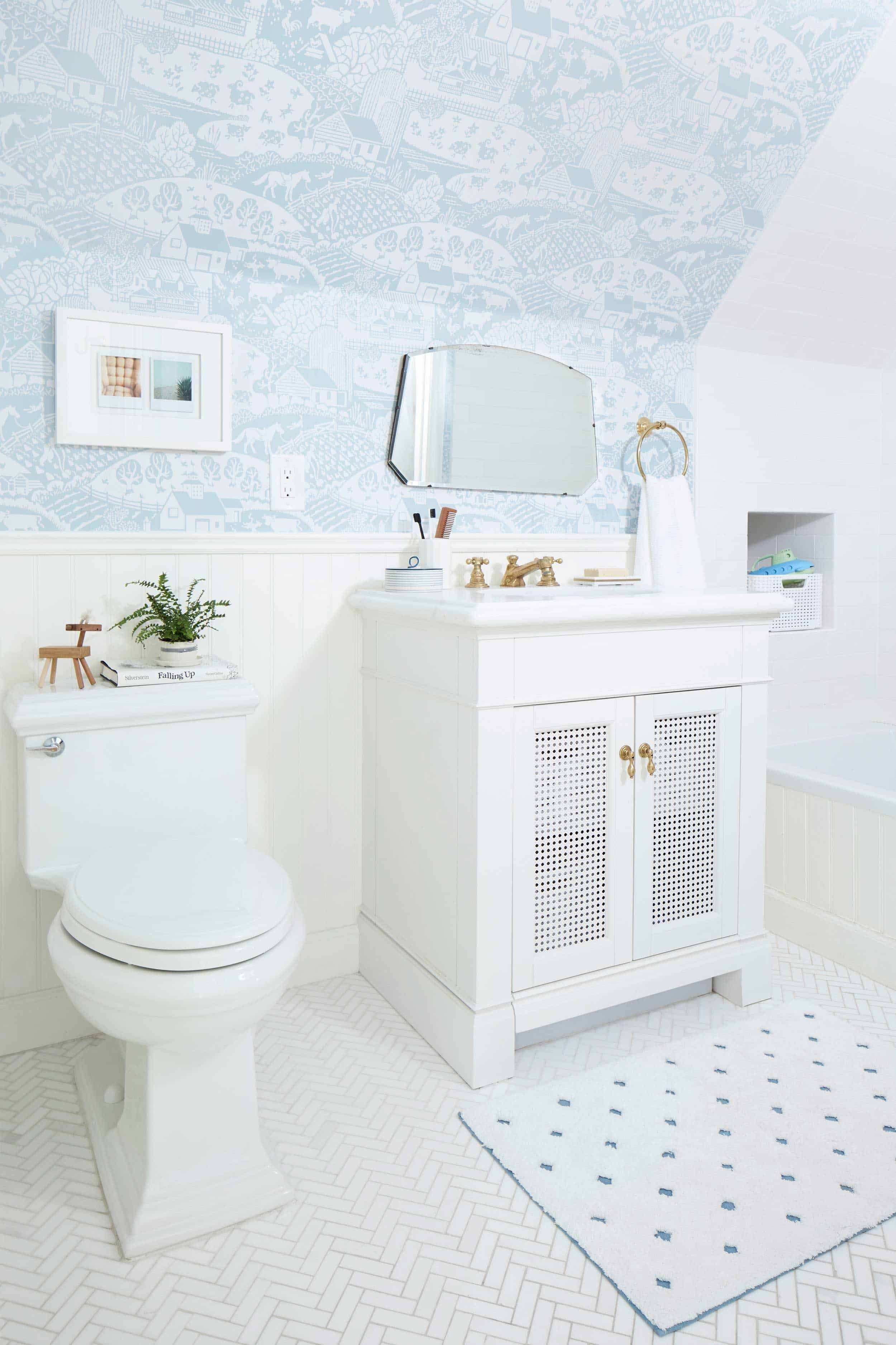 Emily Henderson Kids Jack and Jill Bathroom