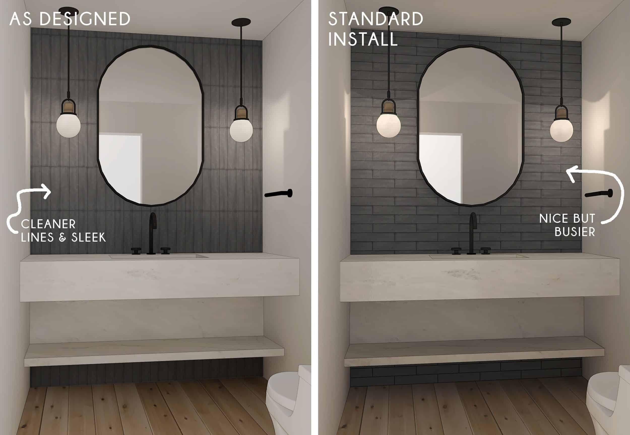Side By Side Powder Bath
