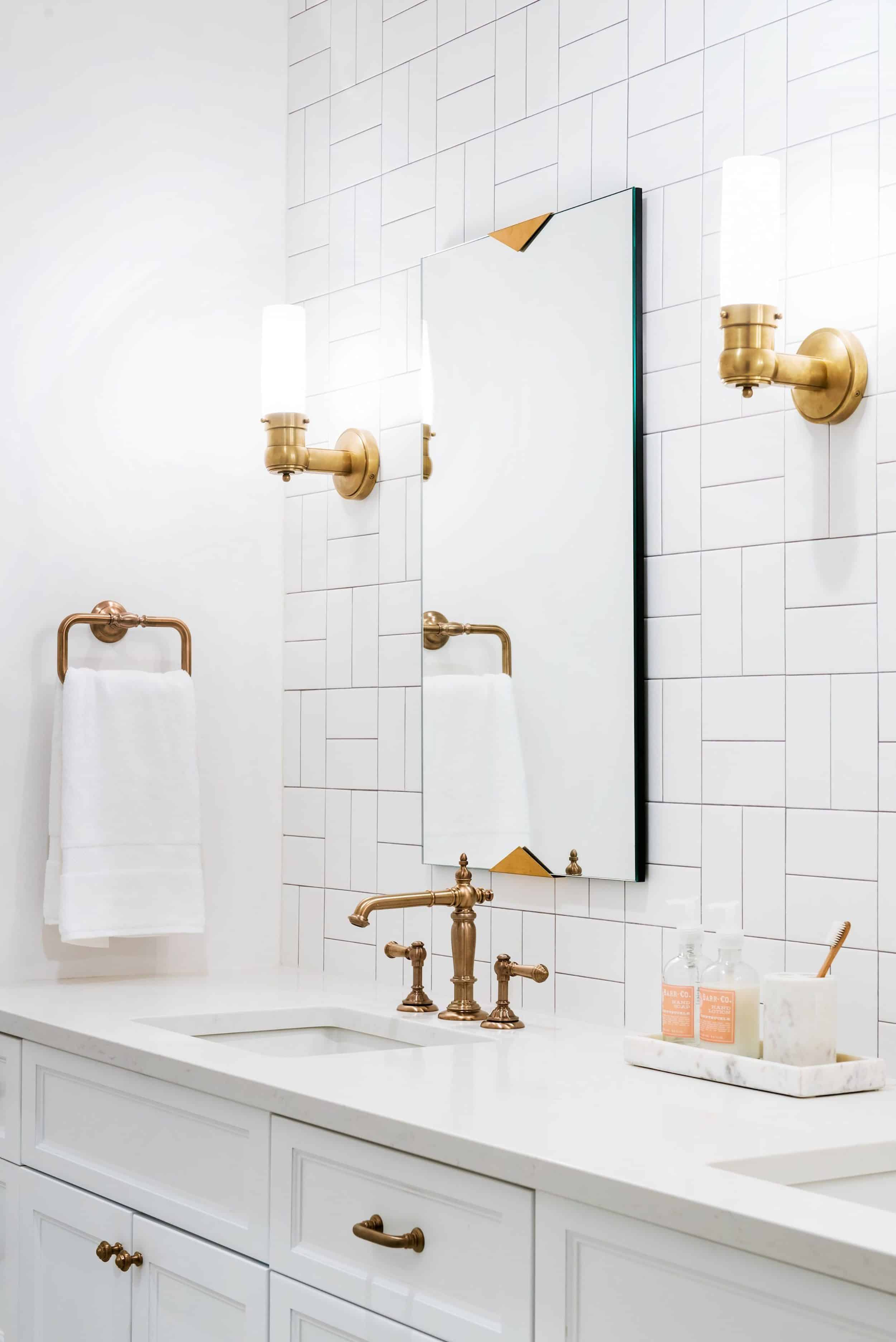 Home Design Subway Tile Patterns Take The Ever Lovely Economical And Turn It On S Head Literally Here Basketweave Pattern Shines F 59