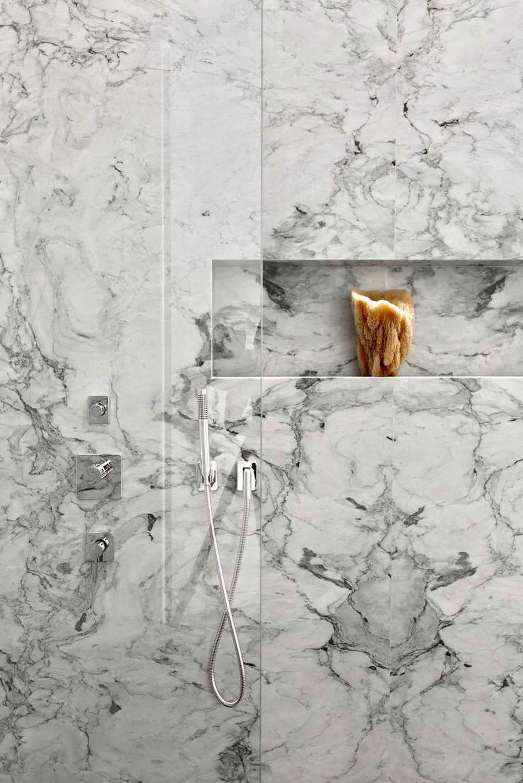 Marble Shower Surround