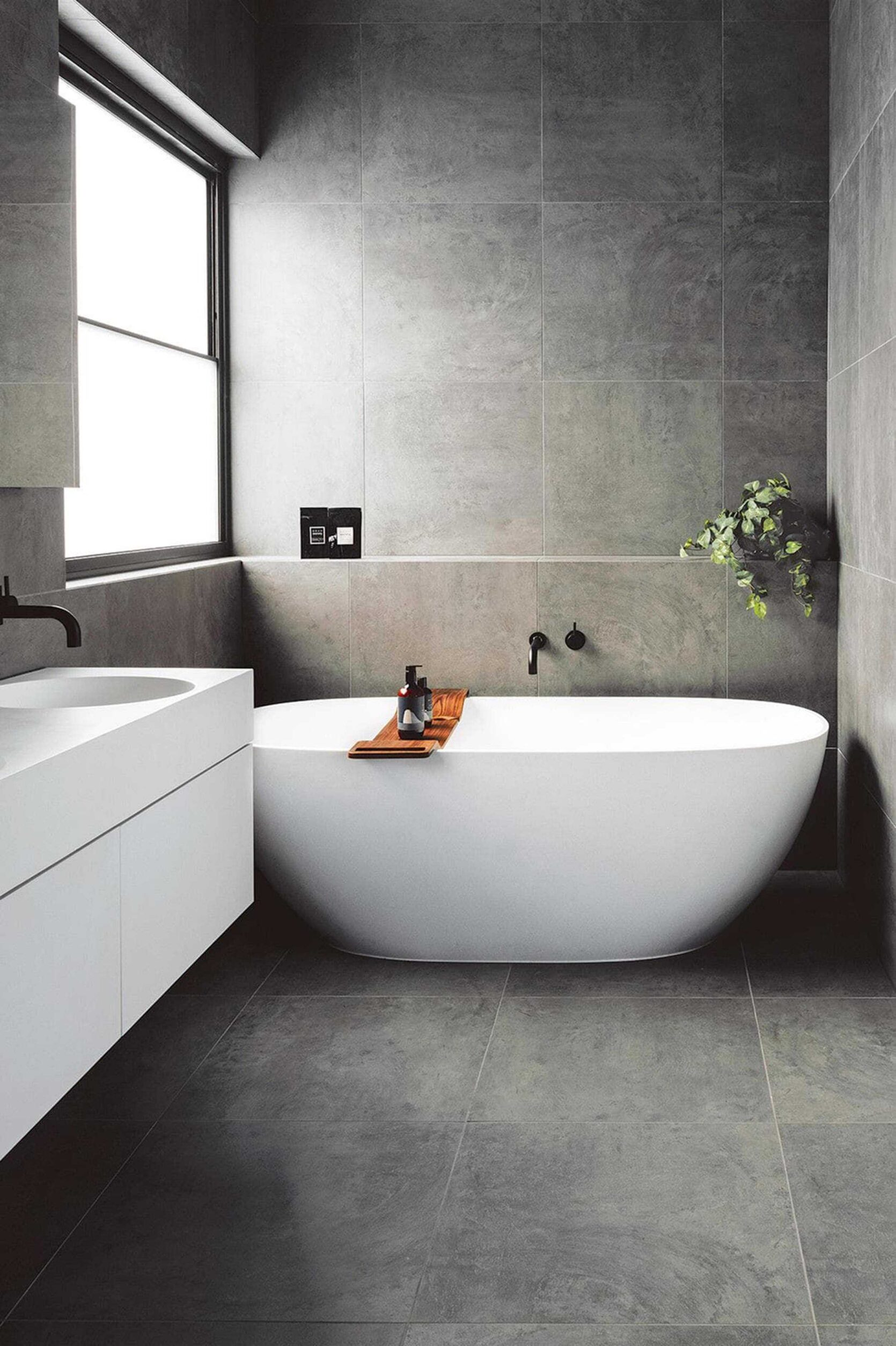 Freestanding Tub Modern Bathroom