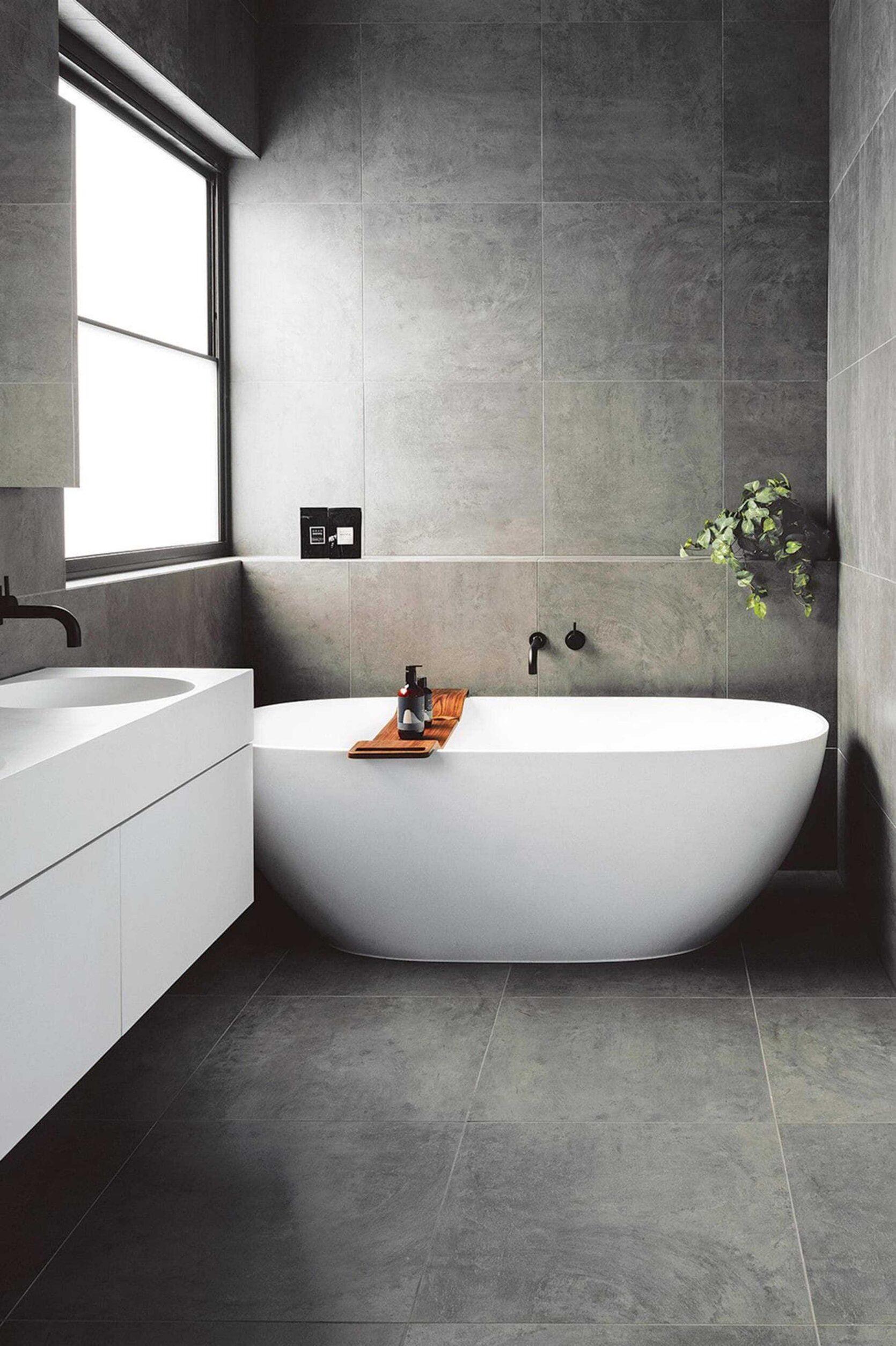 Freestanding Tub Modern Bathroom