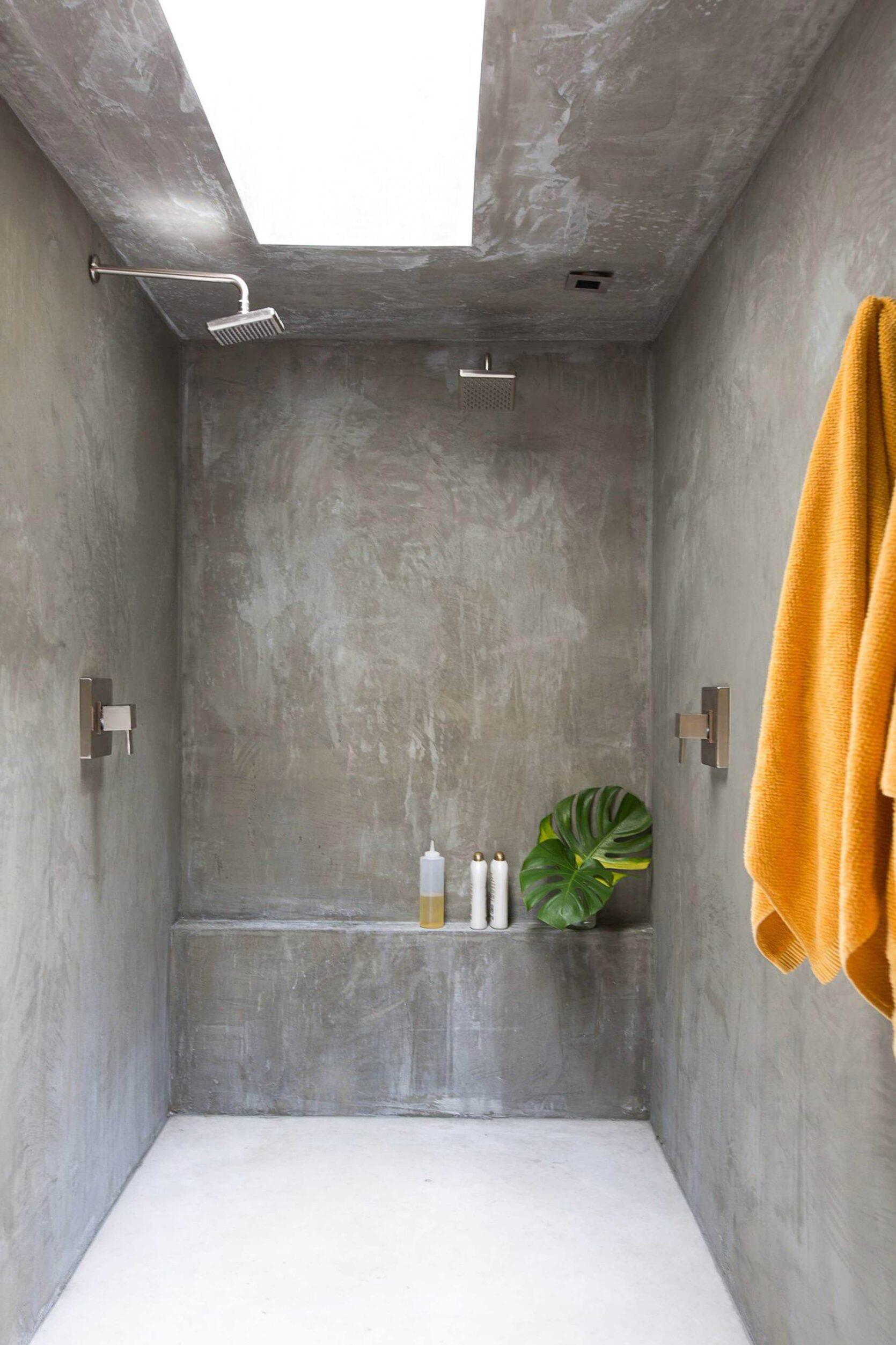 Concrete Plaster Shower