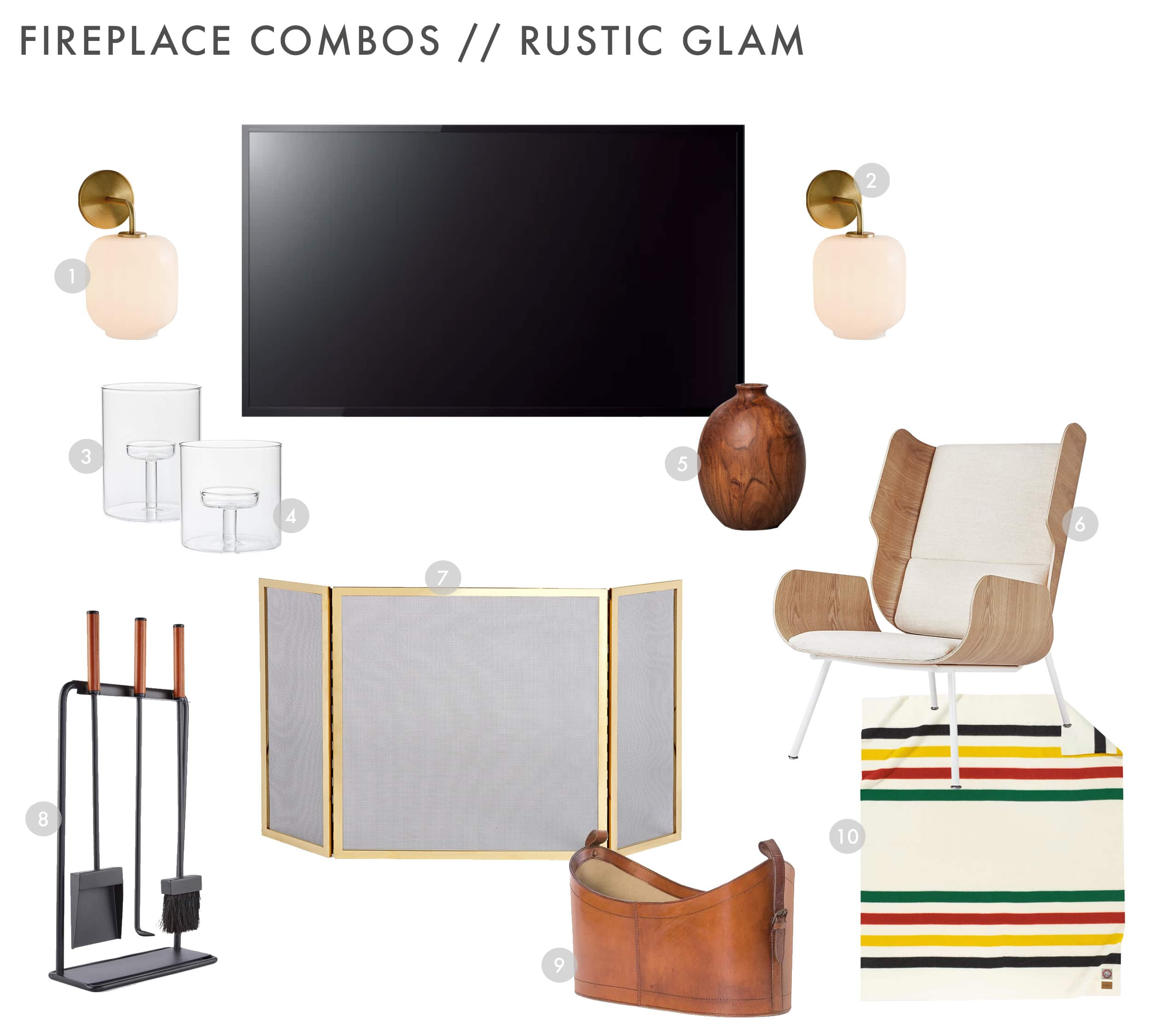 Emily Henderson Design Combos Rustic Glam