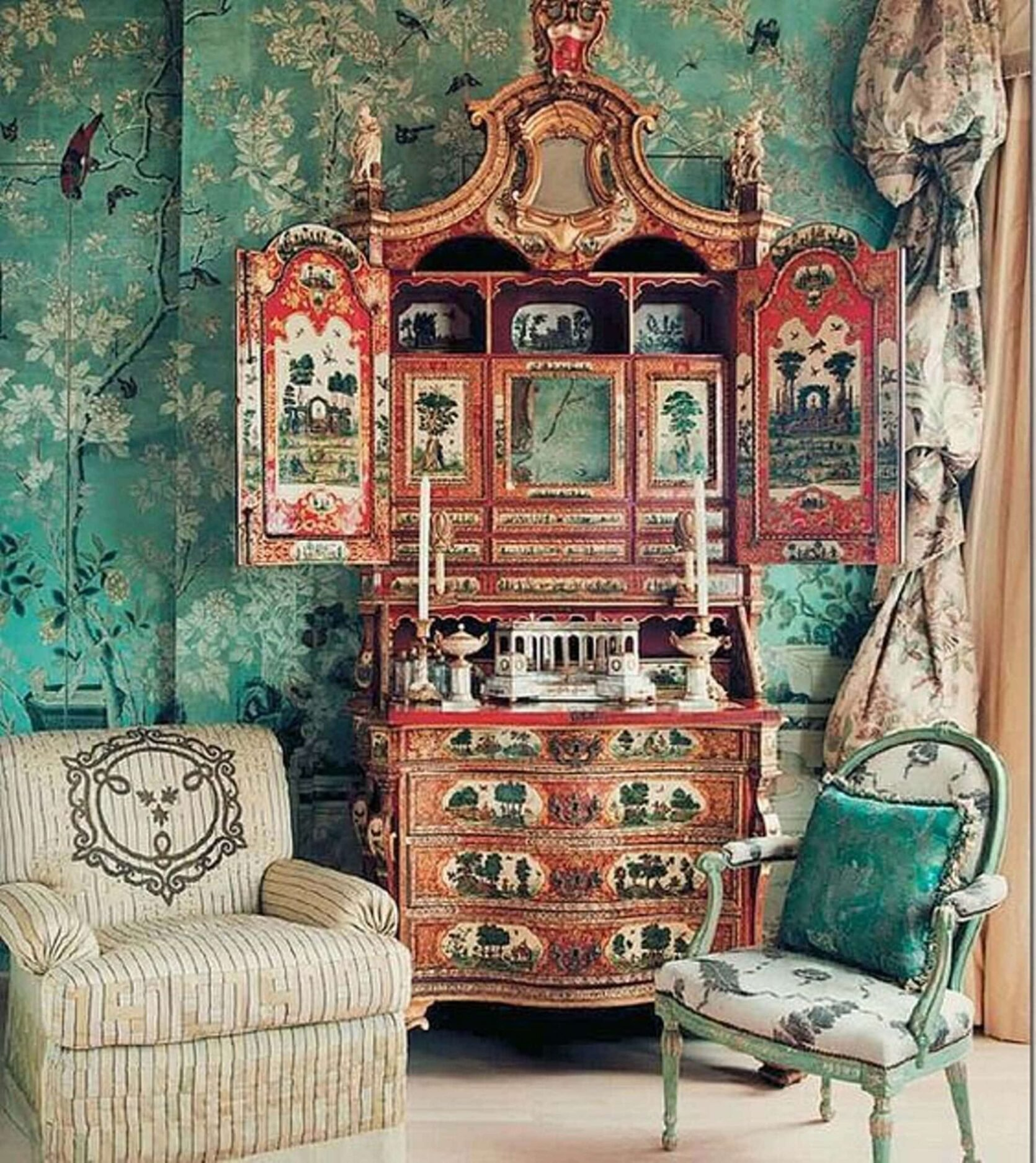Emily Henderson Design Trends Modern Chinoiserie Classic Examples 2