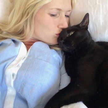 Emily Henderson Losing Animals Cats Bearcat And Mimi 11