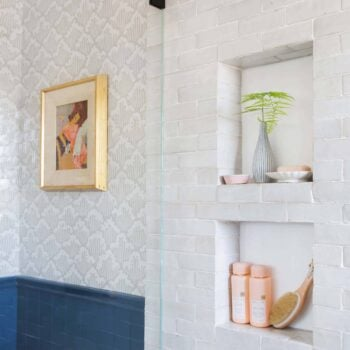 Emily Henderson Modern English Cottage Tudor Master Bathroom Reveal31
