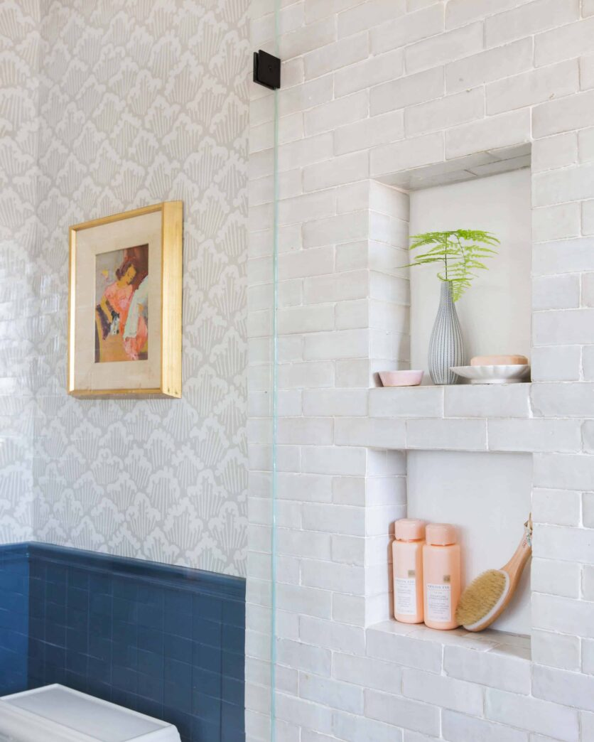 Emily Henderson Modern English Cottage Tudor Master Bathroom Reveal31