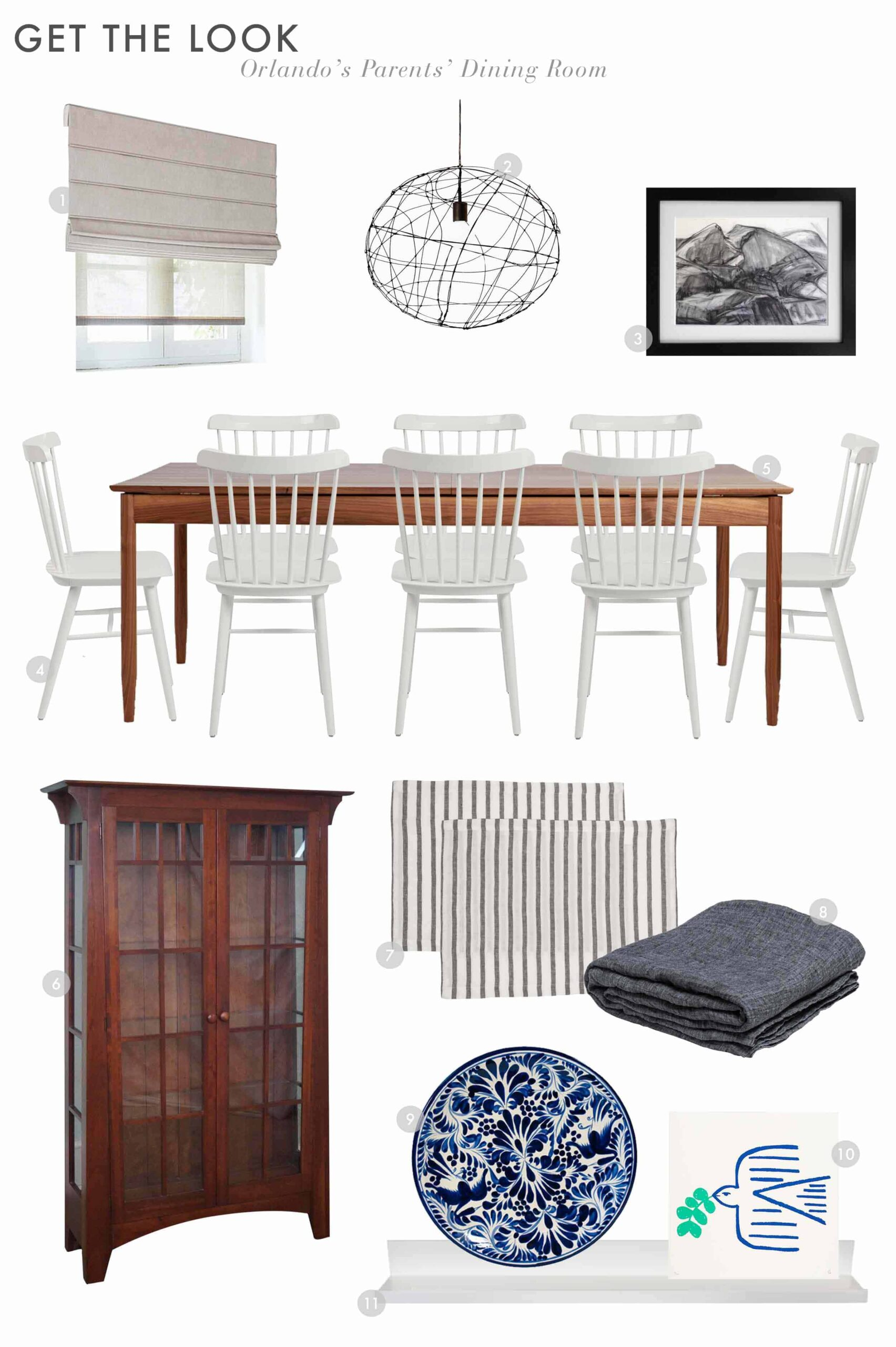 Get The Look Orlando's Parent's Dining Room Intro