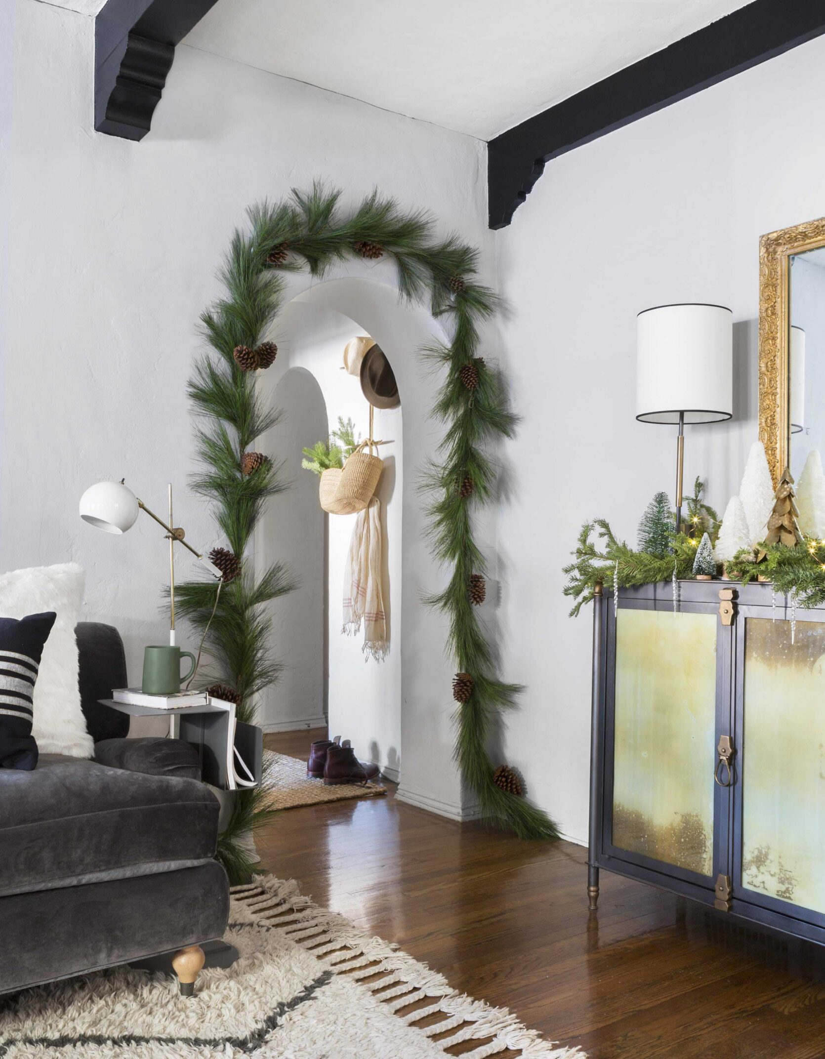 garland ideas for christmas