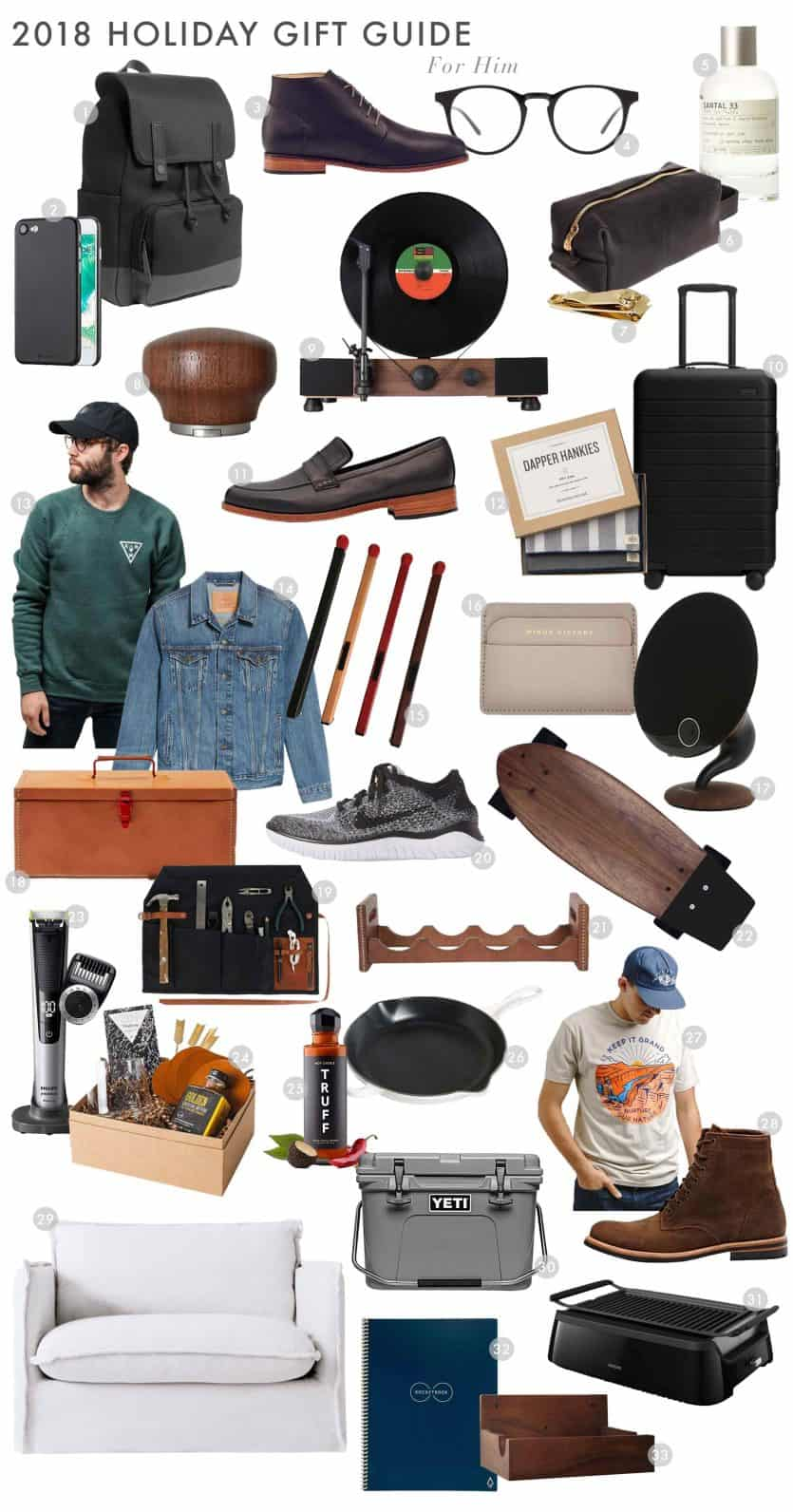 Emily Henderson 2018 Holiday Gift Guide For Him Roundup2