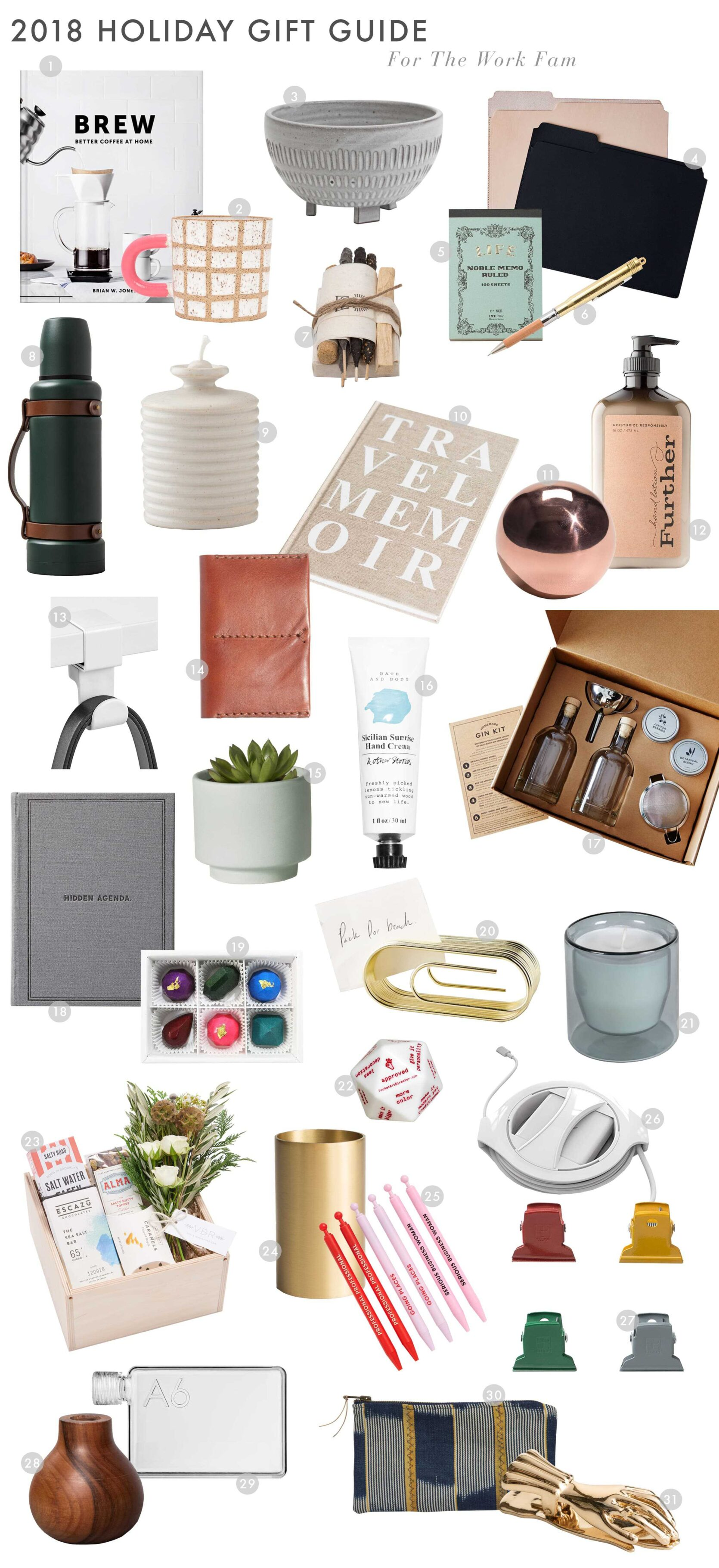 Emily Henderson 2018 Holiday Gift Guide For Work Roundup 1