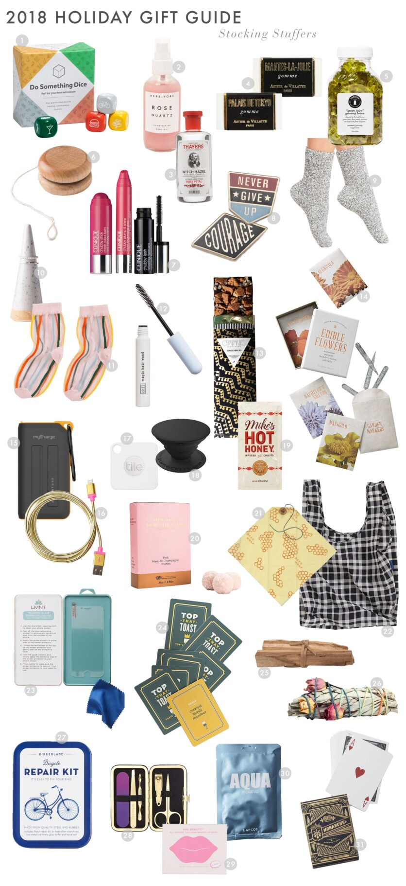 Emily Henderson 2018 Holiday Gift Guide Stocking Stuffers Roundup