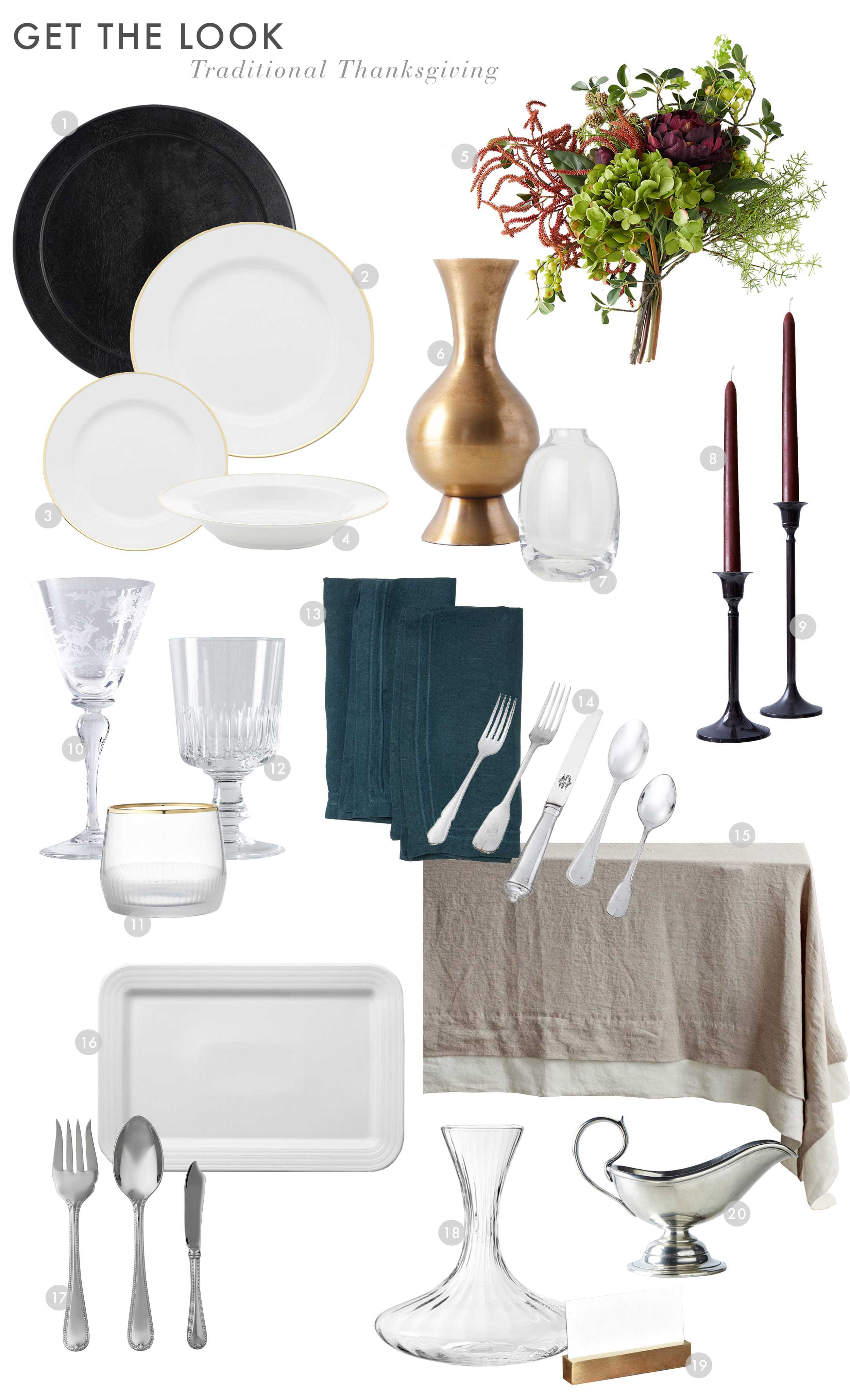 Emily Henderson Budget Thanksgiving Traditional